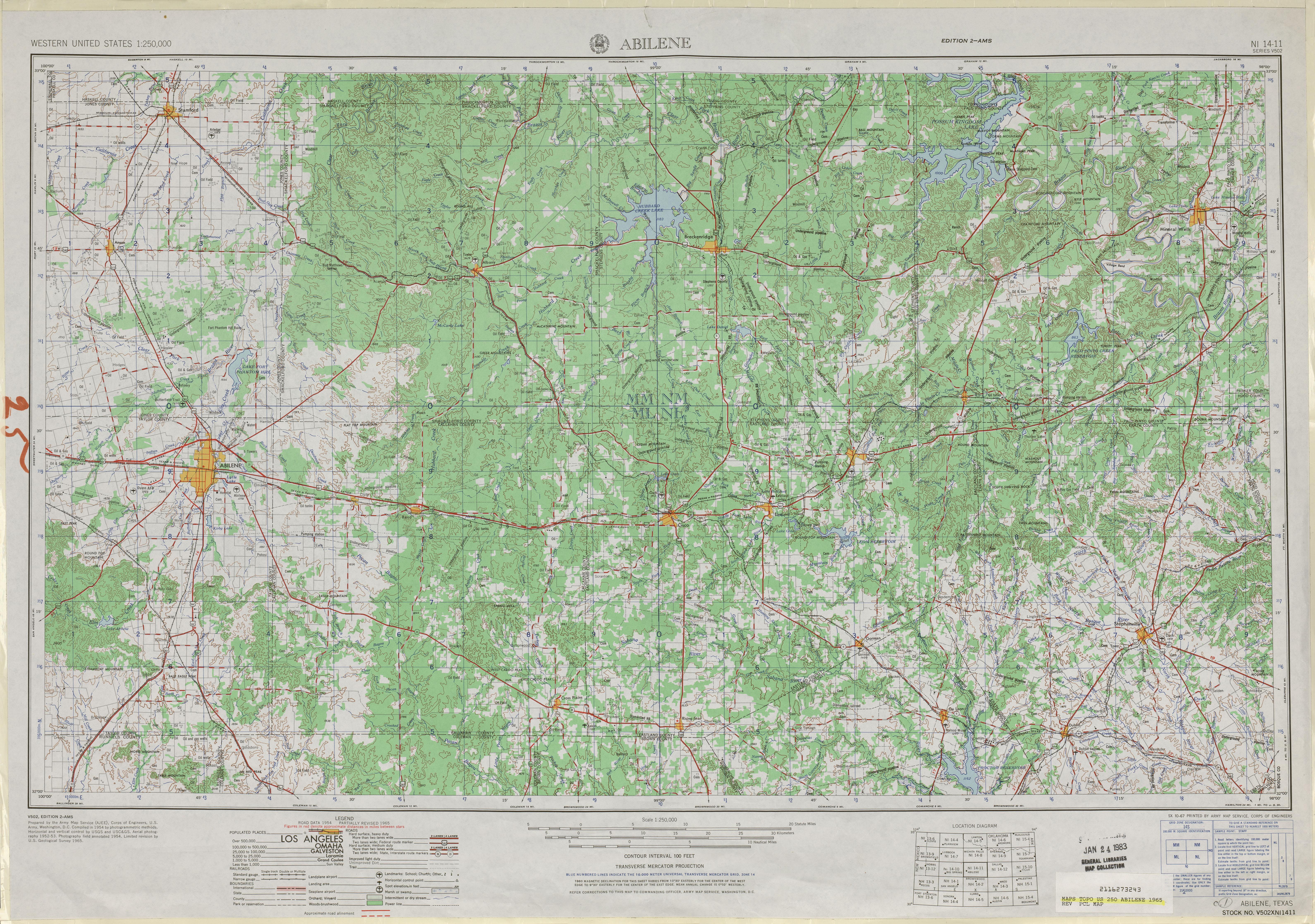 Abilene 1 250 000