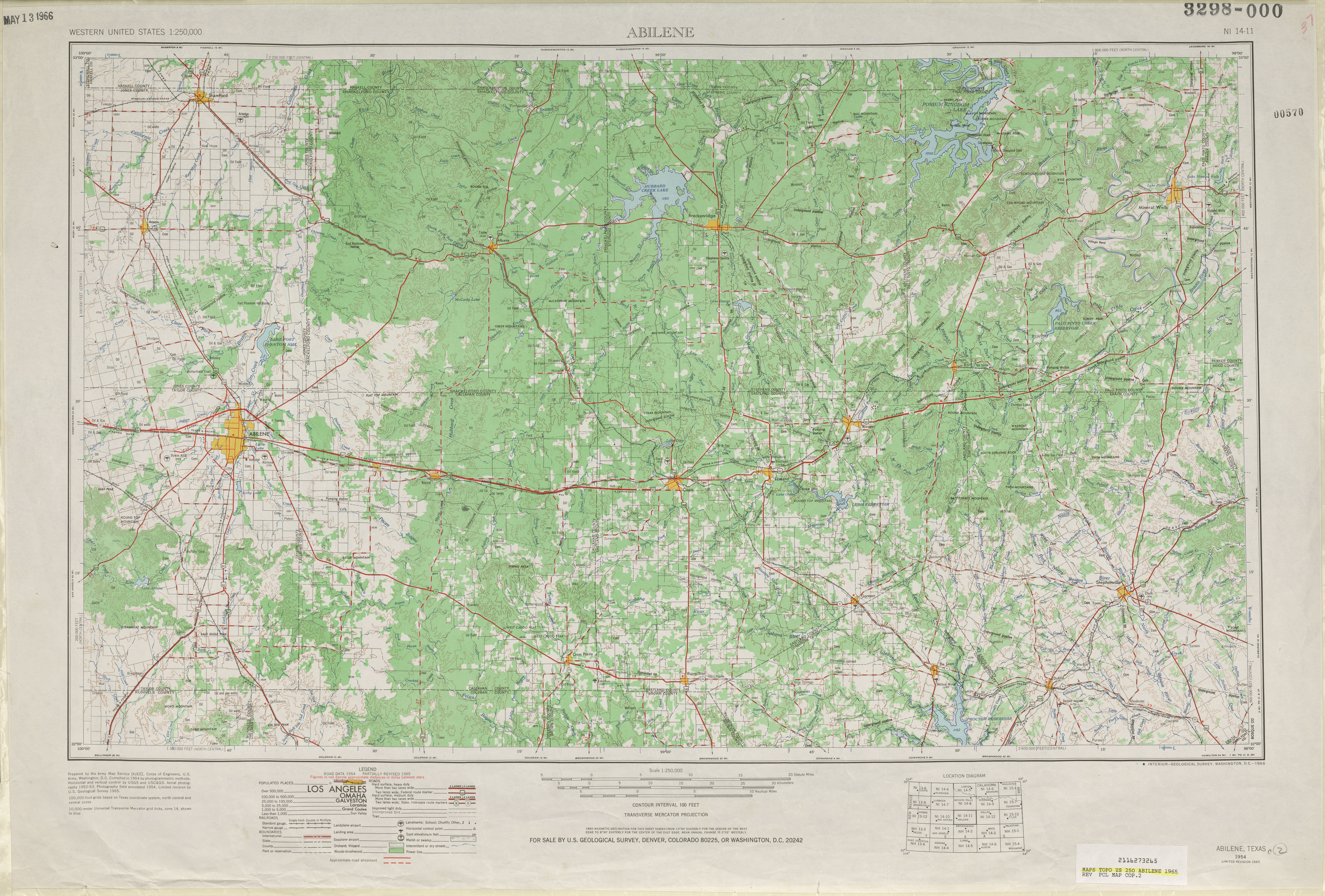 Texas Topographic Maps PerryCastañeda Map Collection UT - Topographic map of western us