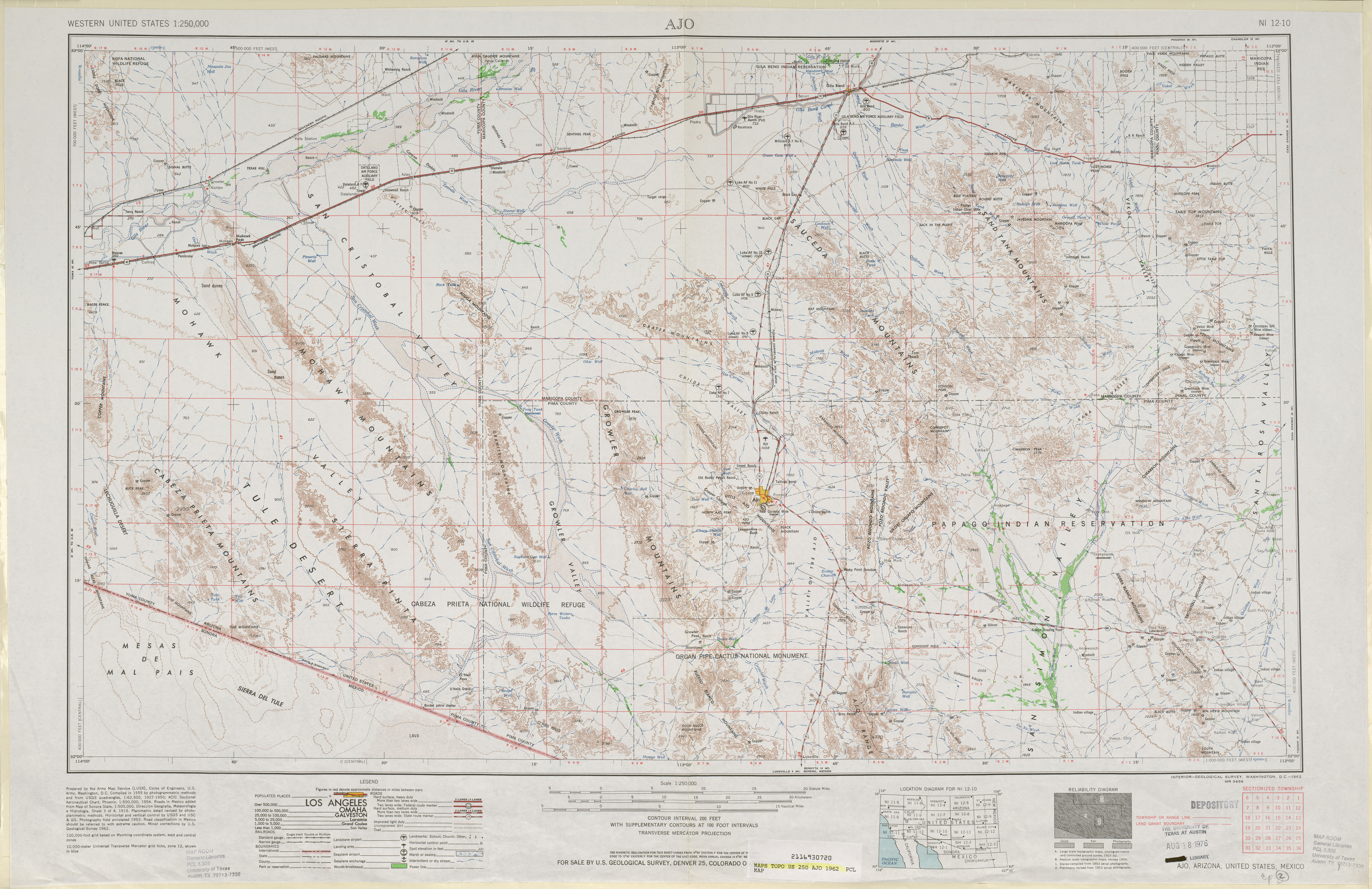 United States Topographic Maps PerryCastañeda Map - Us 1 nc map