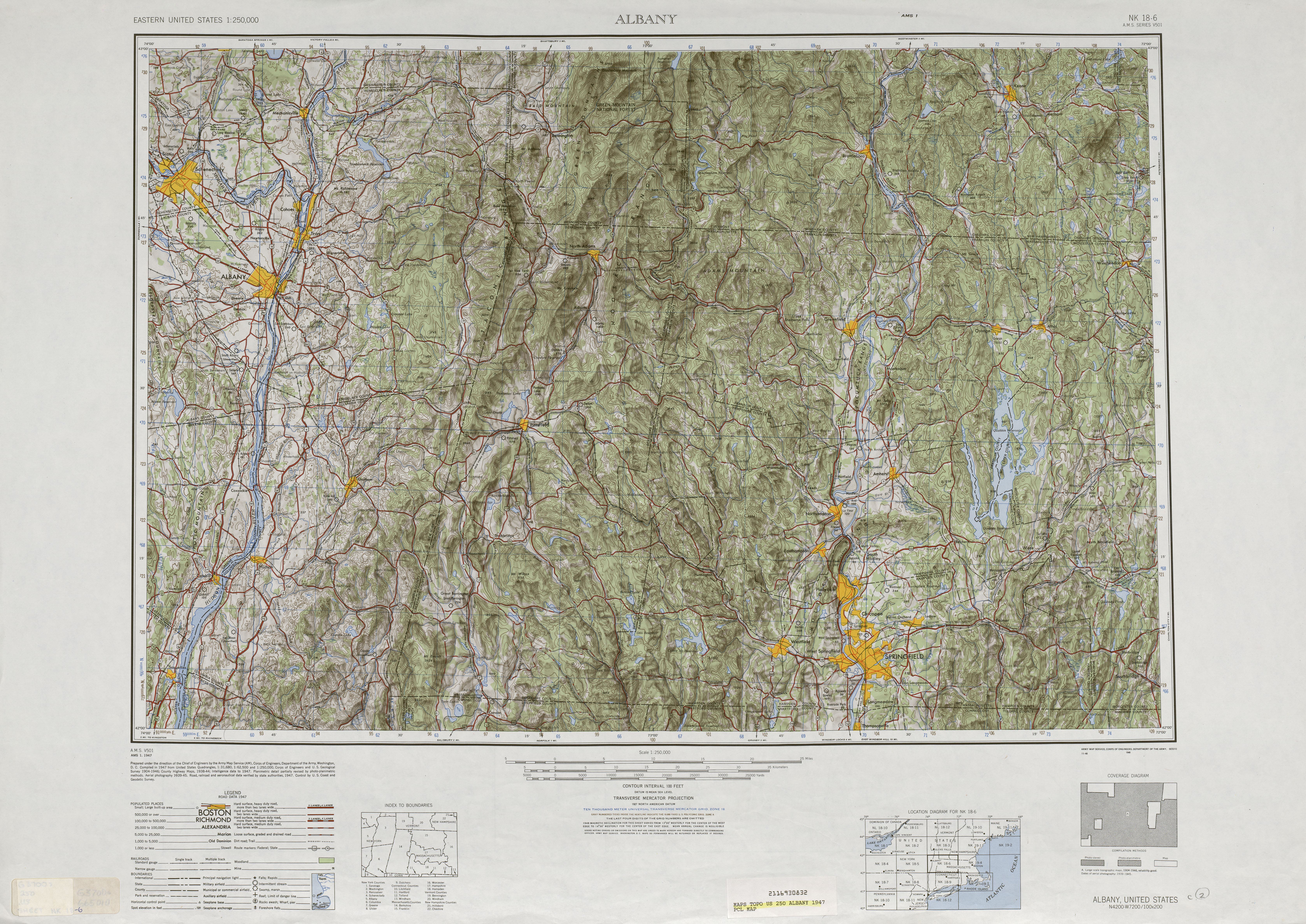 United States Map Topography.United States Topographic Maps 1 250 000 Perry Castaneda Map
