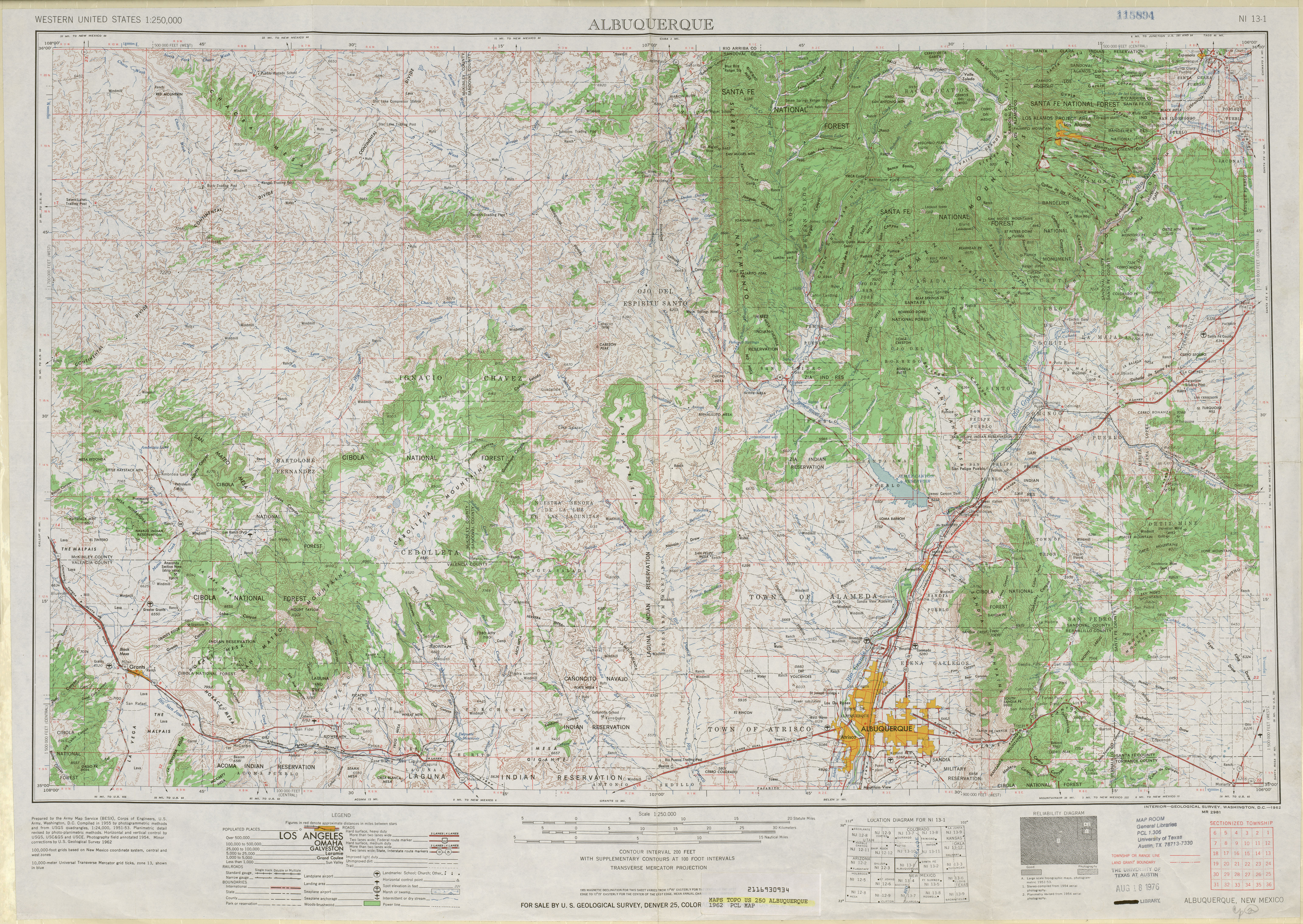 United States Topographic Maps PerryCastañeda Map - Altititude map us