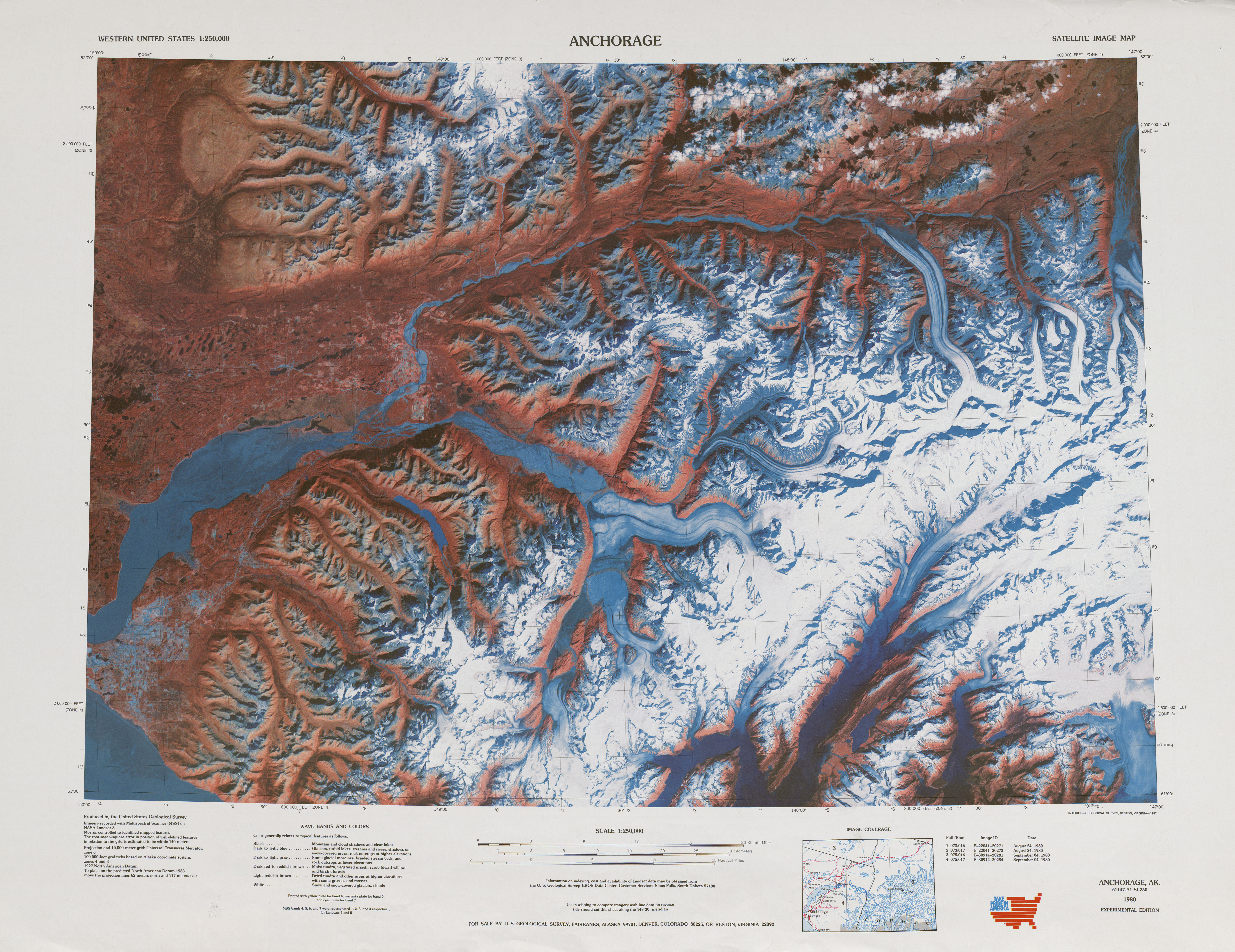 United states topographic maps 1250000 perry castaeda map anchorage 1985 verso satellite sciox Choice Image