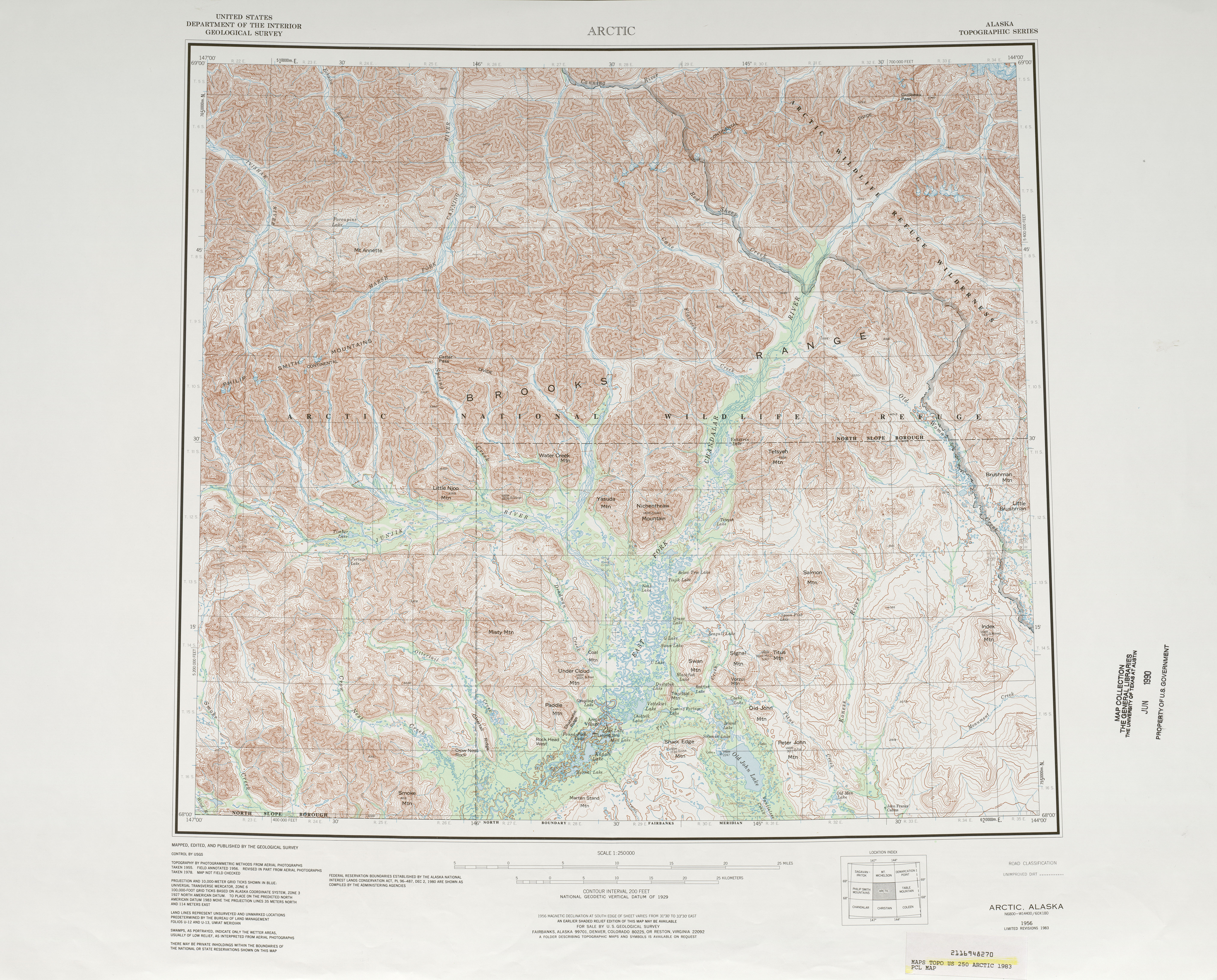 Alaska Topographic Maps - Perry-Castañeda Map Collection ...