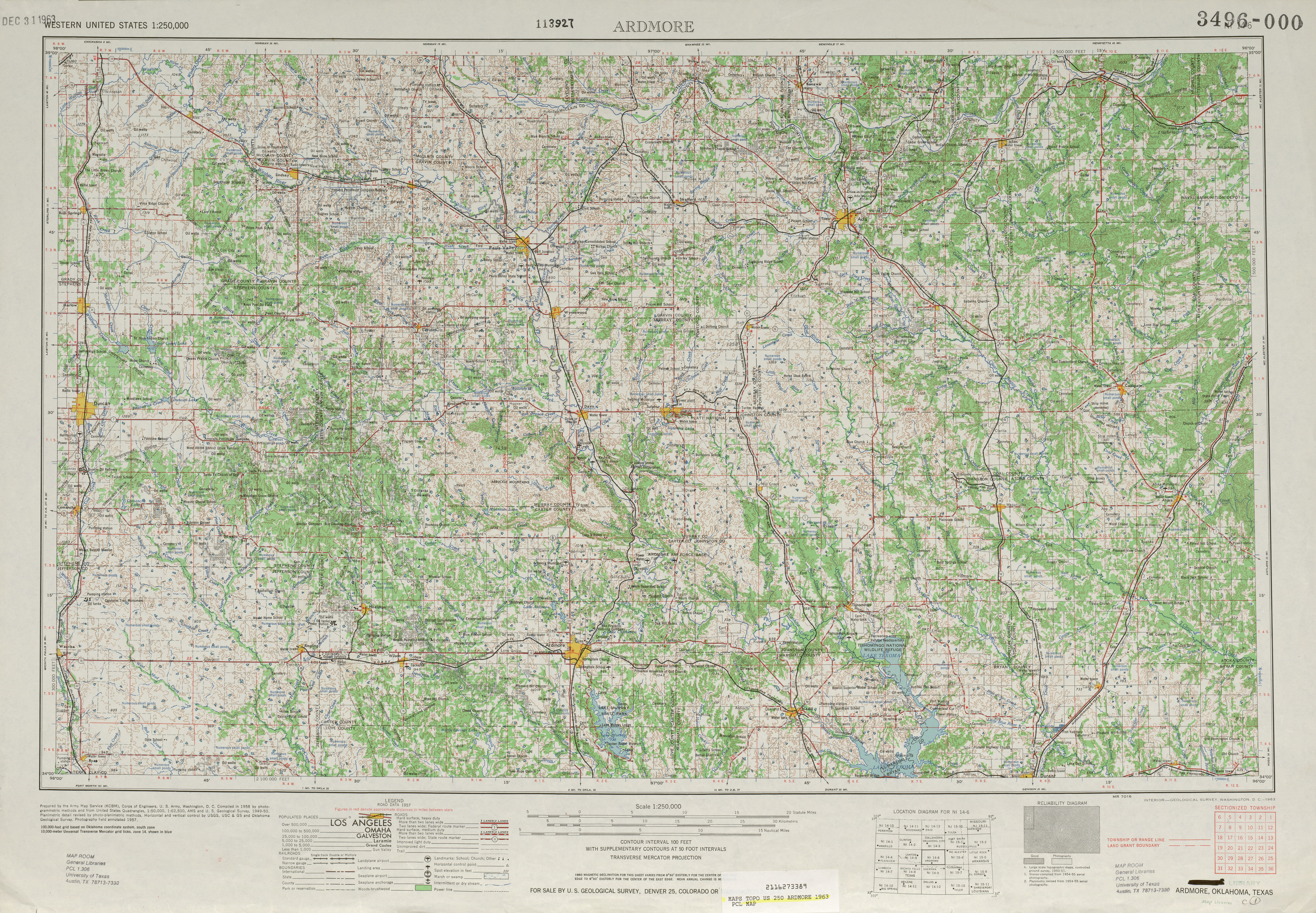 United States Topographic Maps PerryCastañeda Map - High resolution us map download