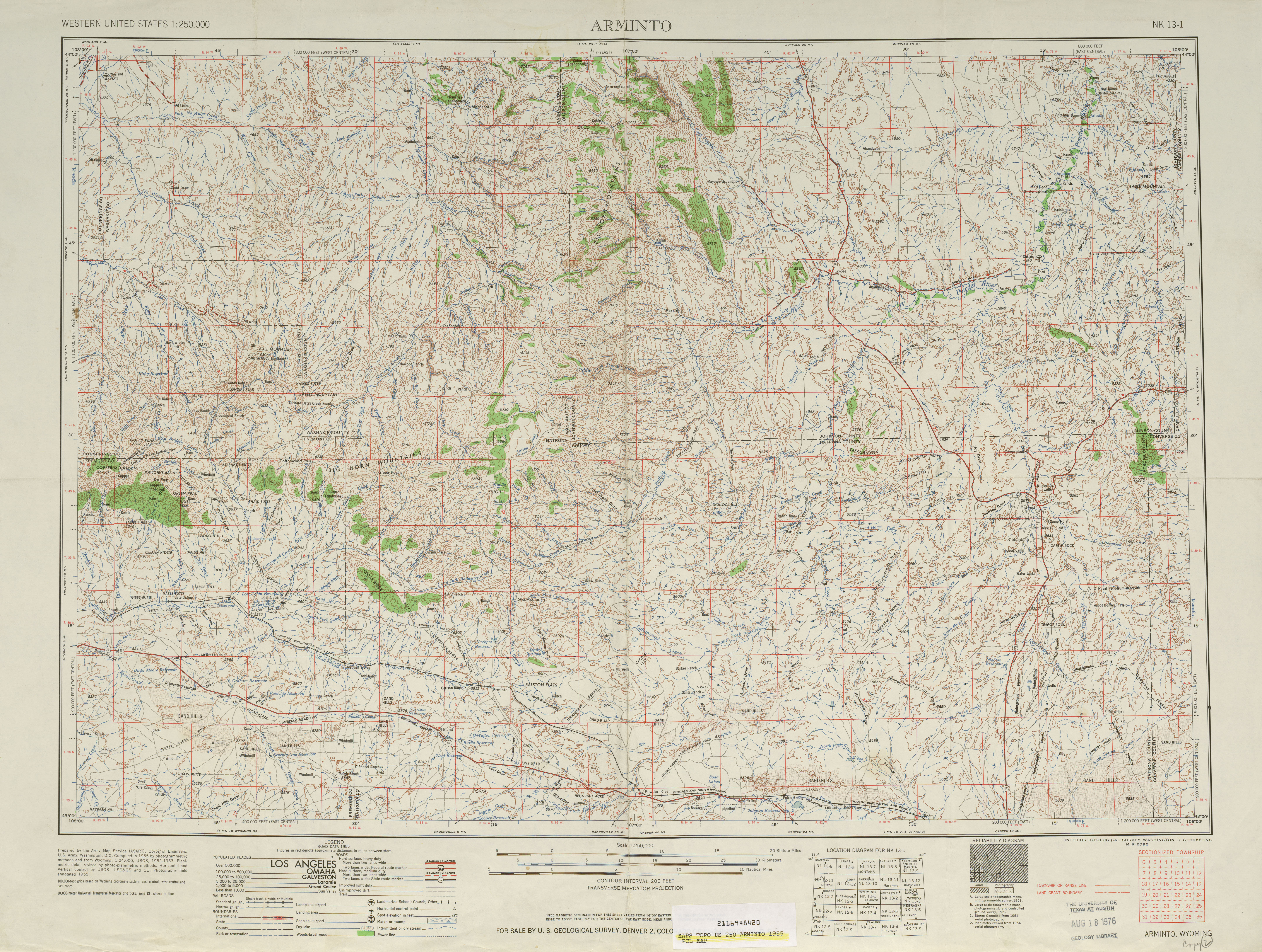 United States Topographic Maps PerryCastañeda Map - Omaha us map
