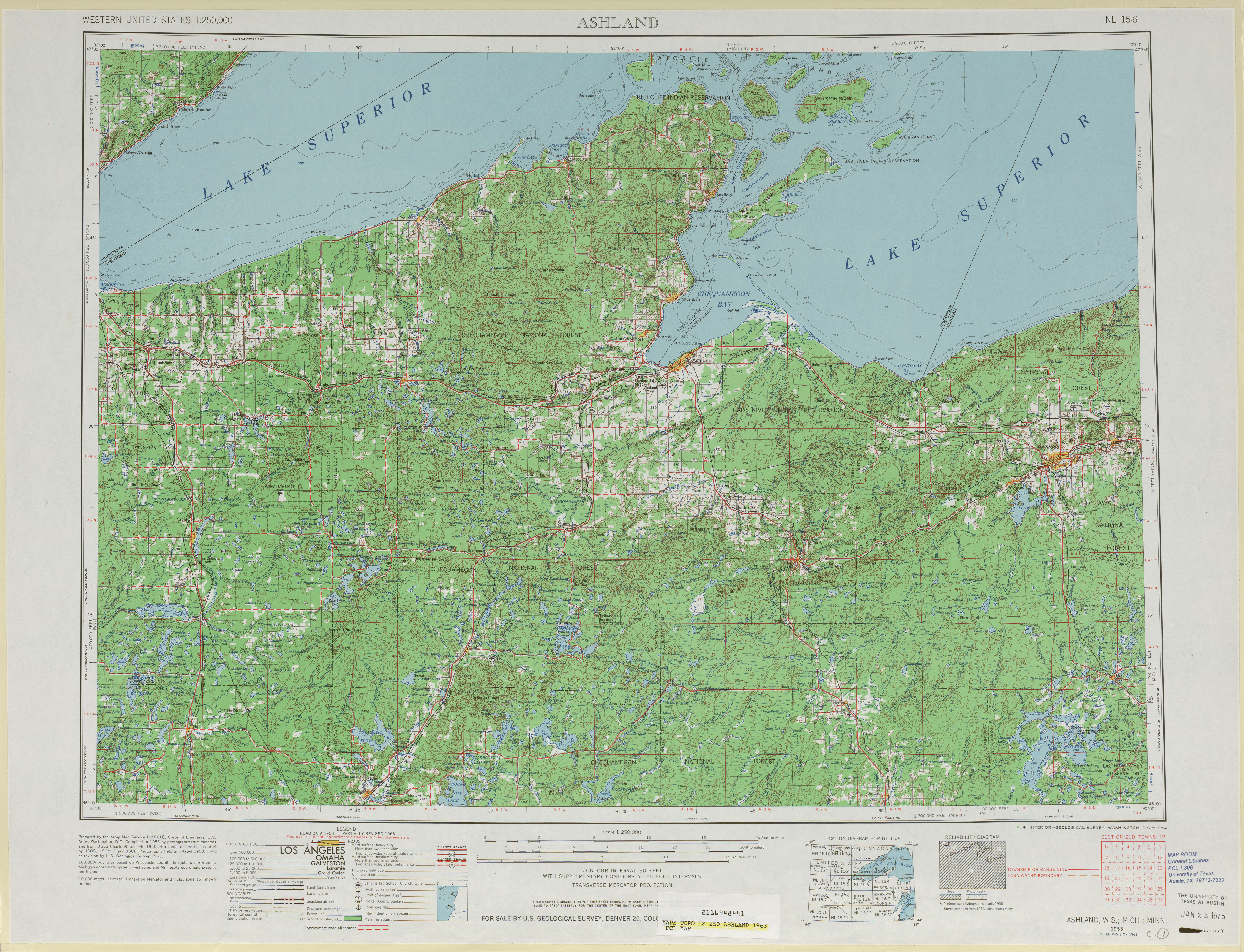 United States Topographic Maps PerryCastañeda Map - Maps r us