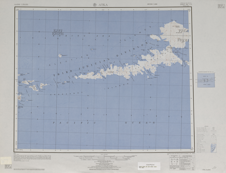Alaska Topographic Maps   Perry Castañeda Map Collection   UT