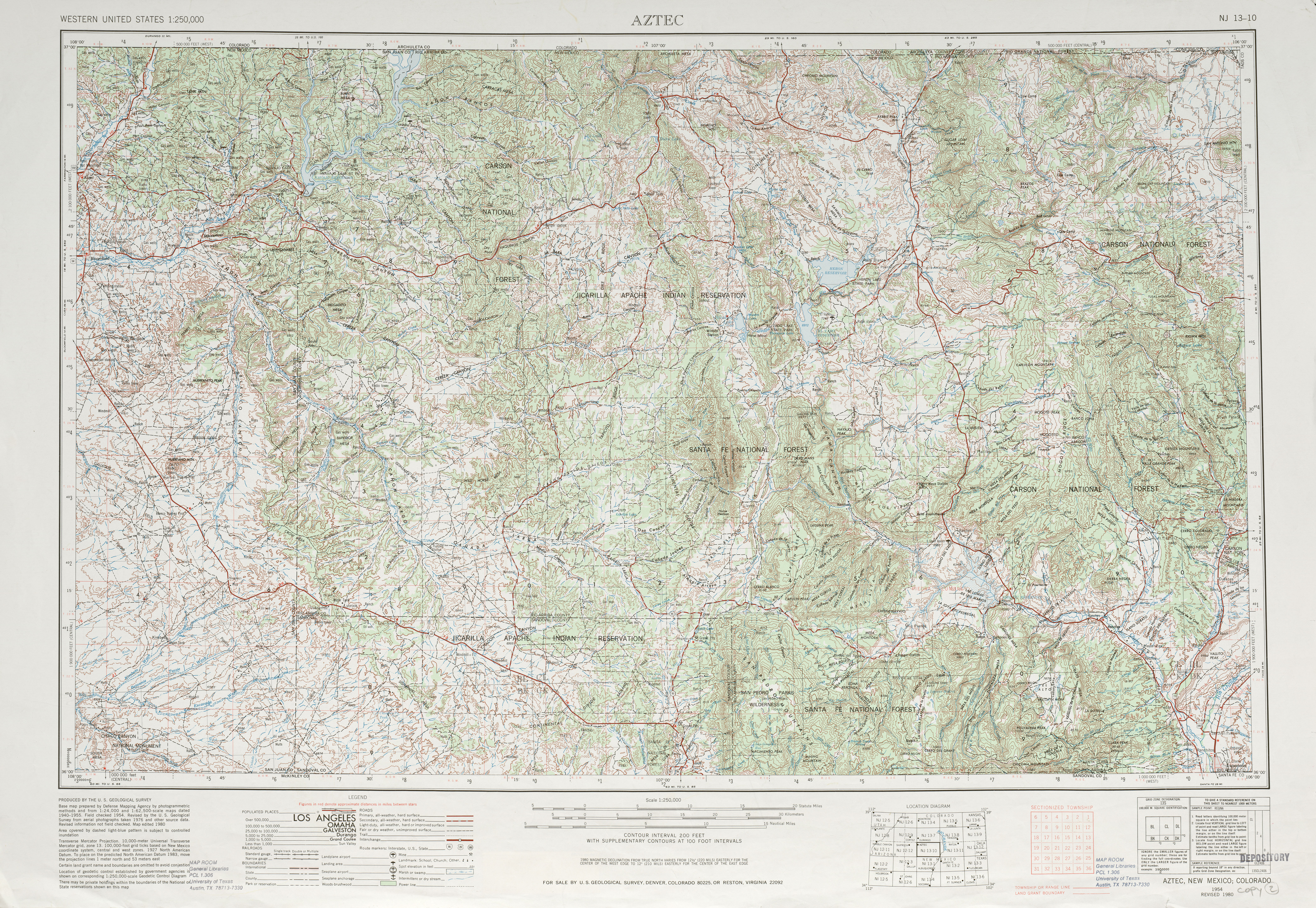 United States Topographic Maps PerryCastañeda Map - Us topogragphical map