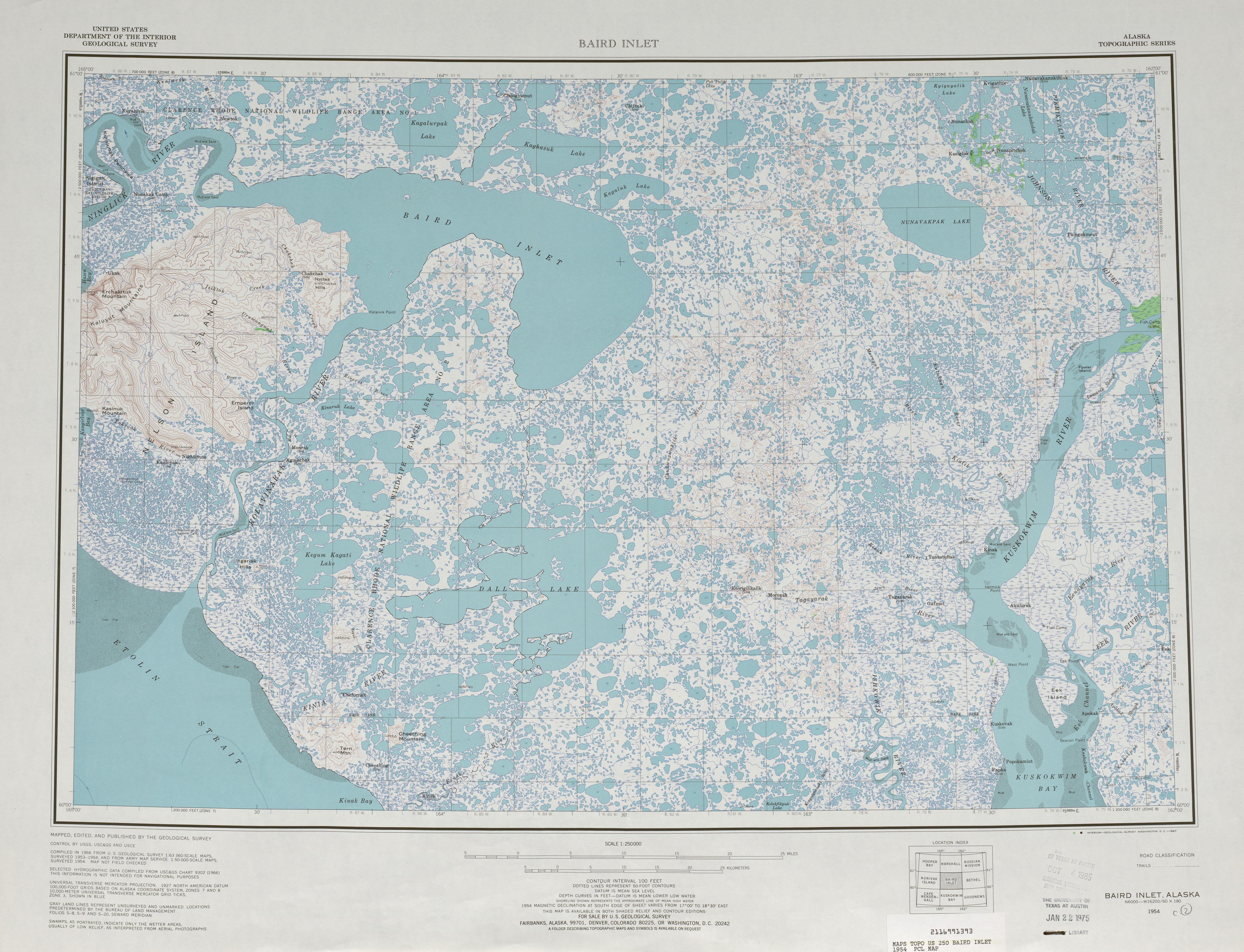 Alaska Topographic Maps PerryCastañeda Map Collection UT - Alaska map us