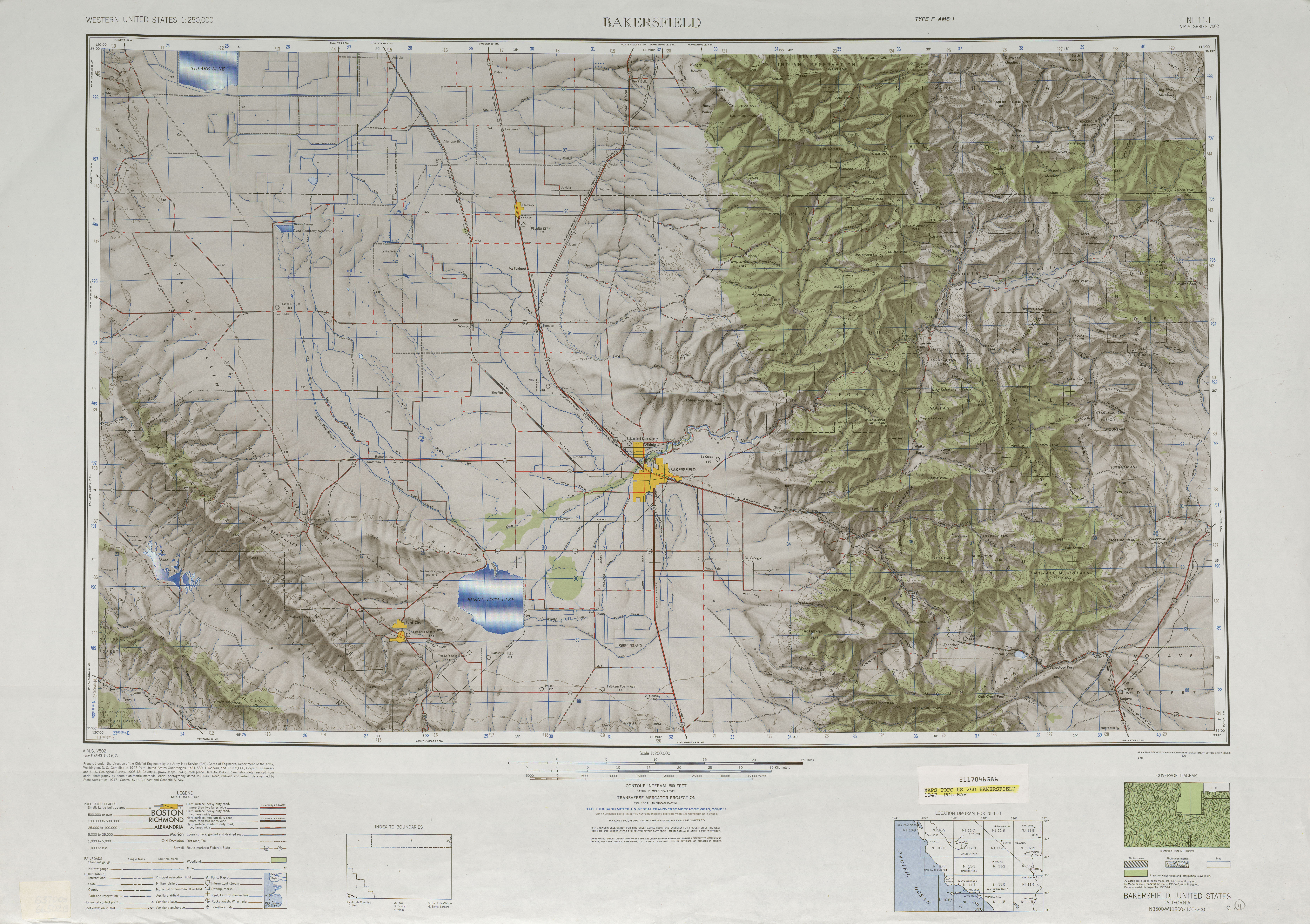 United States Topographic Maps PerryCastañeda Map - Relief map us