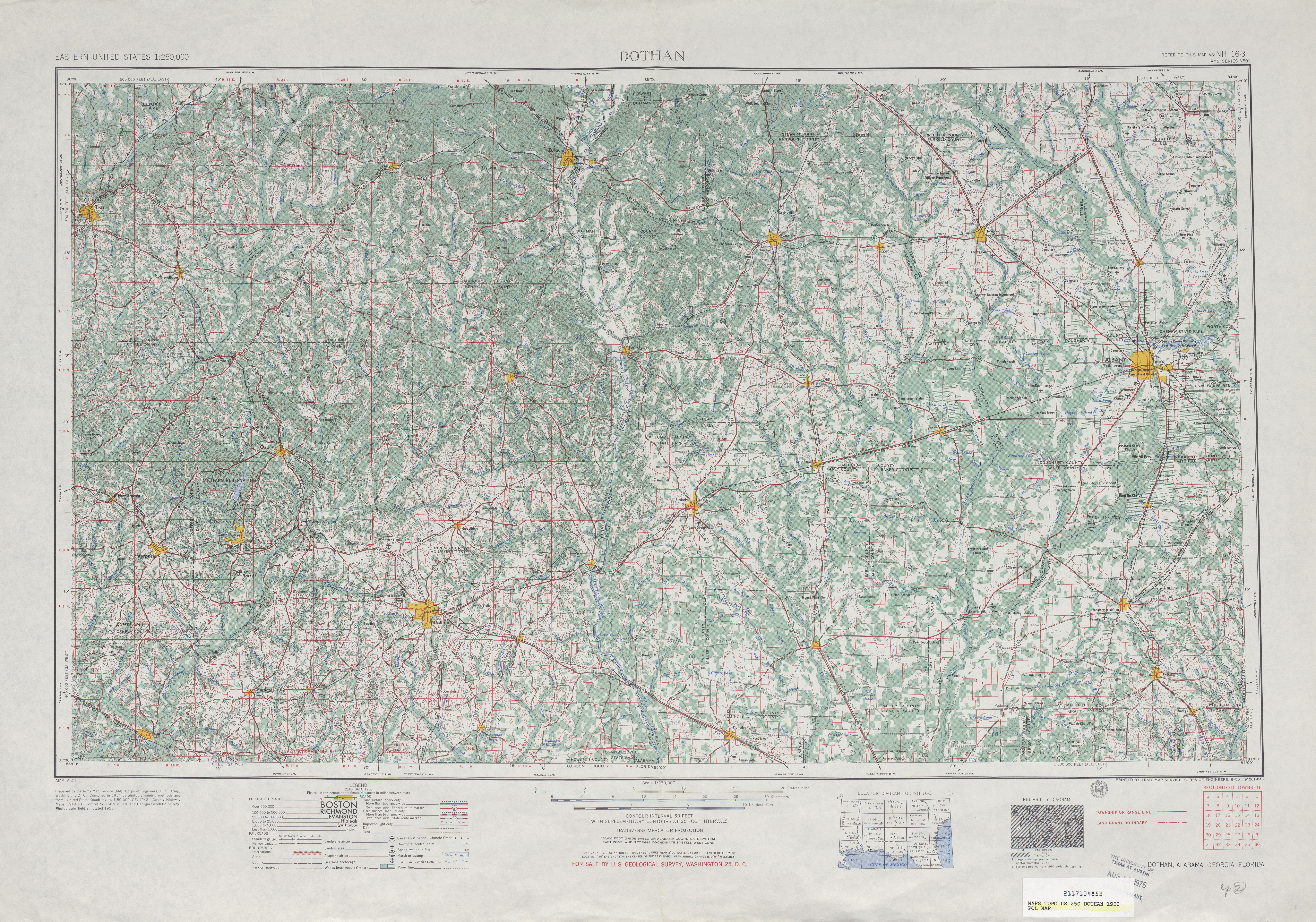 Map Of Georgia And Florida.Georgia Historical Topographic Maps Perry Castaneda Map Collection