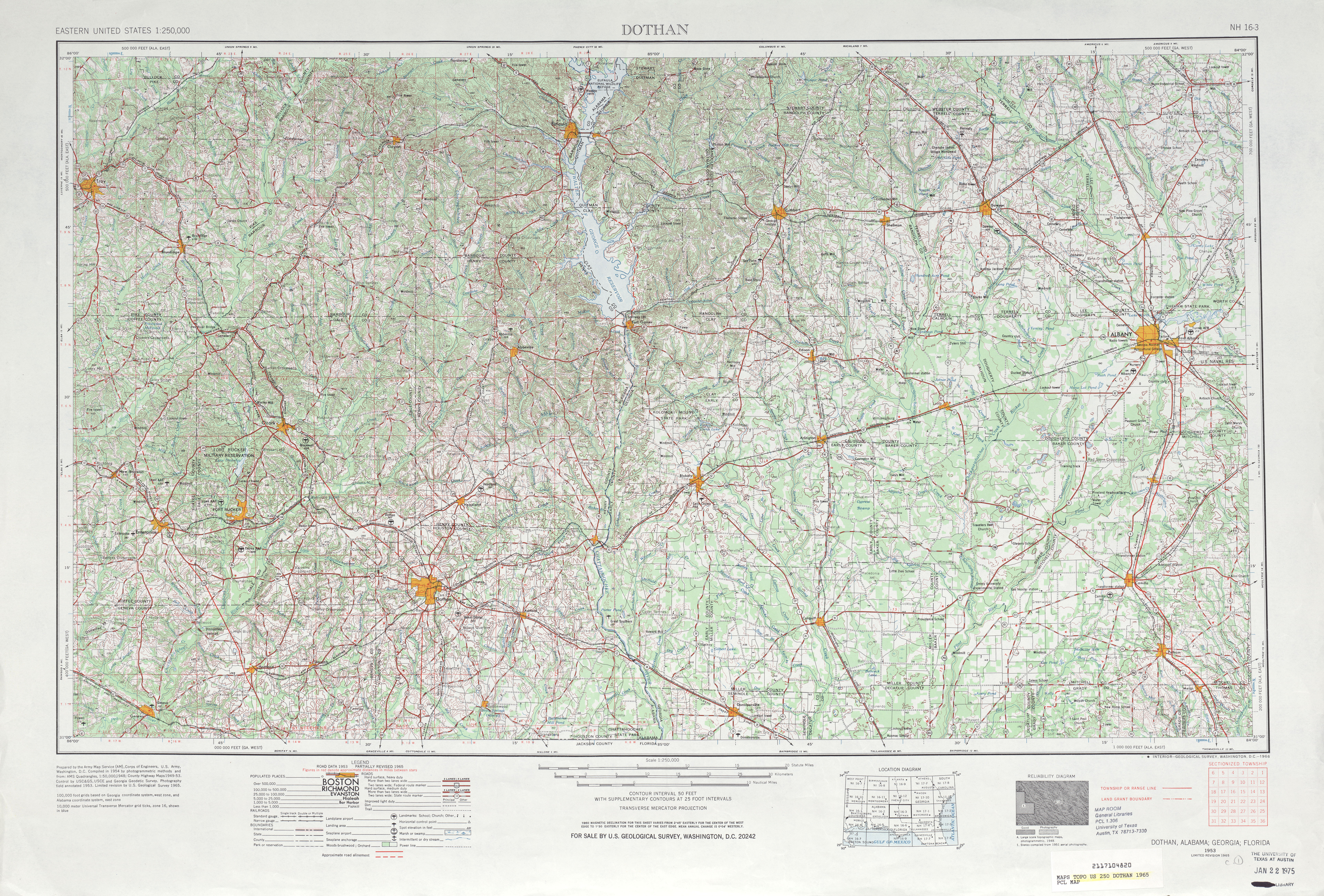 Alabama Topographic Maps PerryCastañeda Map Collection UT - Alabama in us map