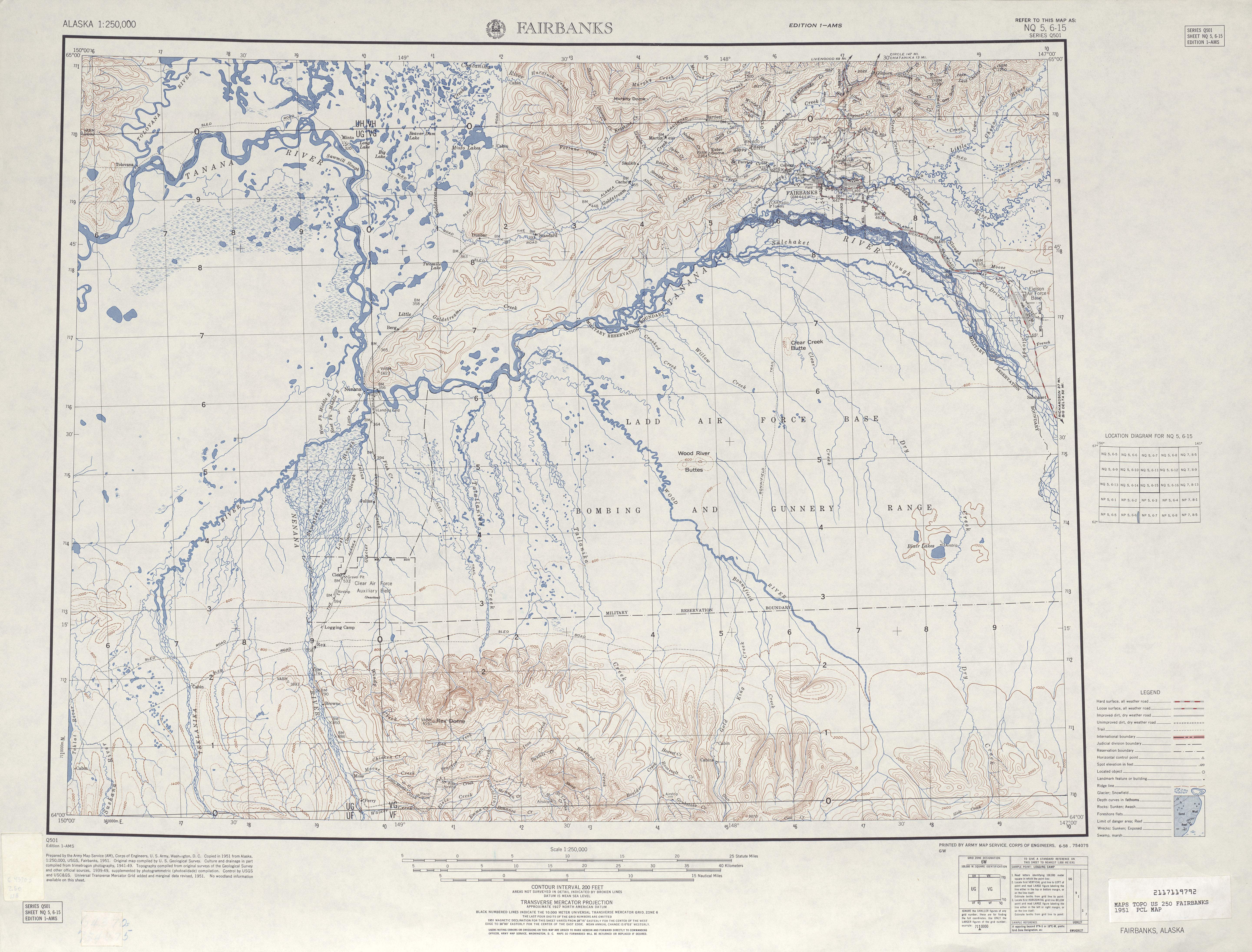 United States Map Topographic