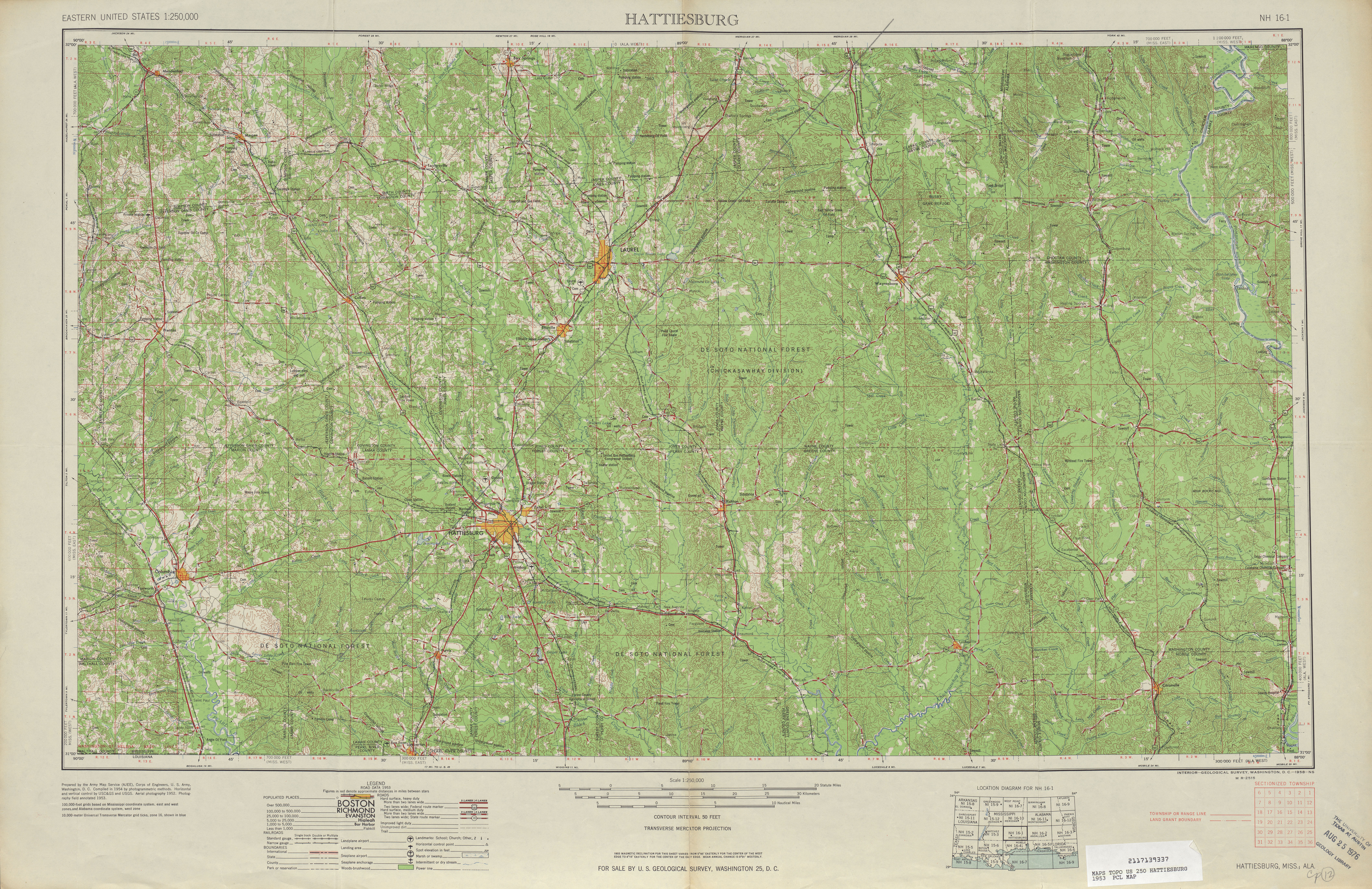 Alabama Topographic Maps PerryCastañeda Map Collection UT - Us geological survey topographic maps for sale