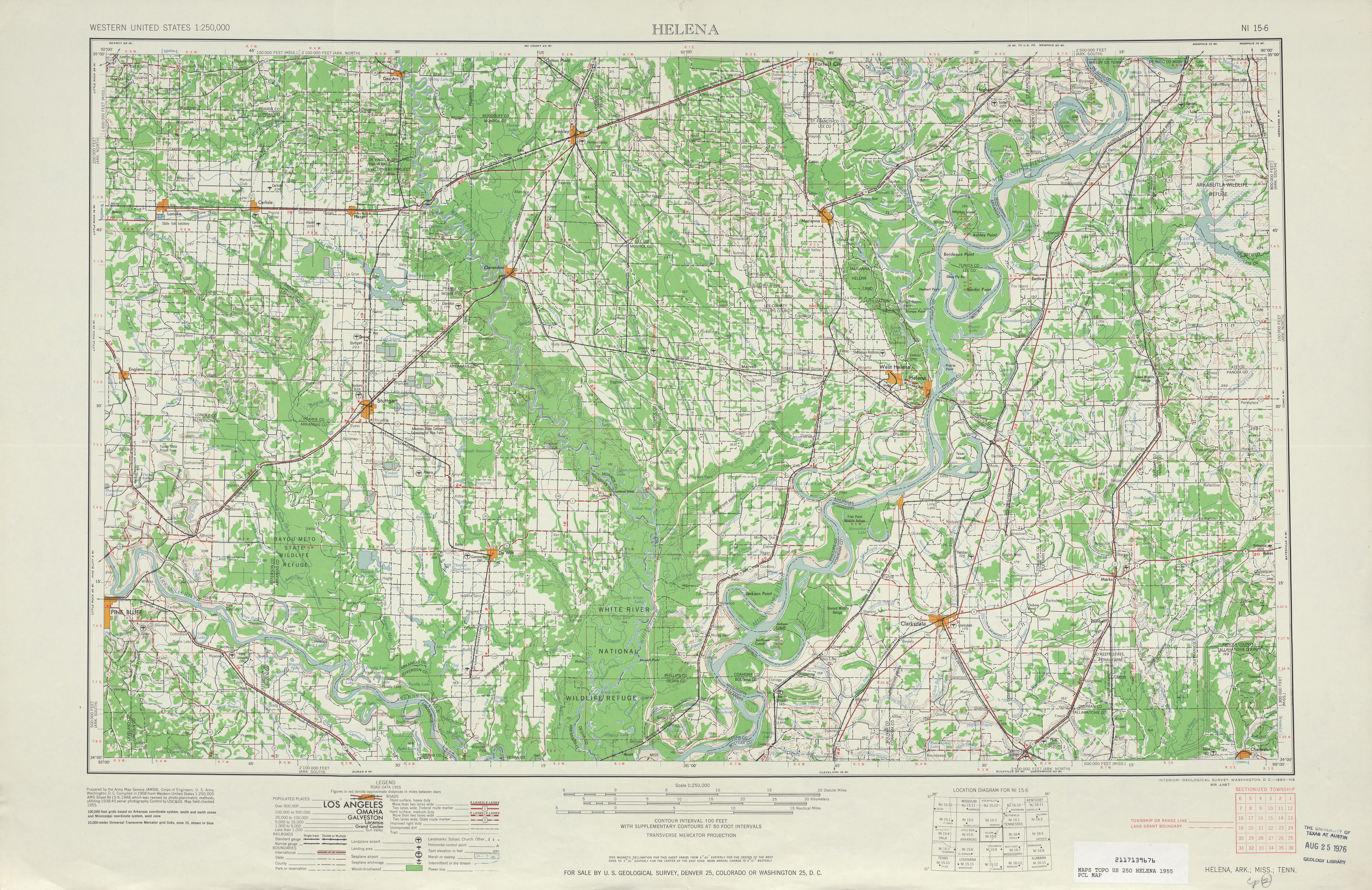 Mississippi Topographic Maps PerryCastaeda Map Collection UT