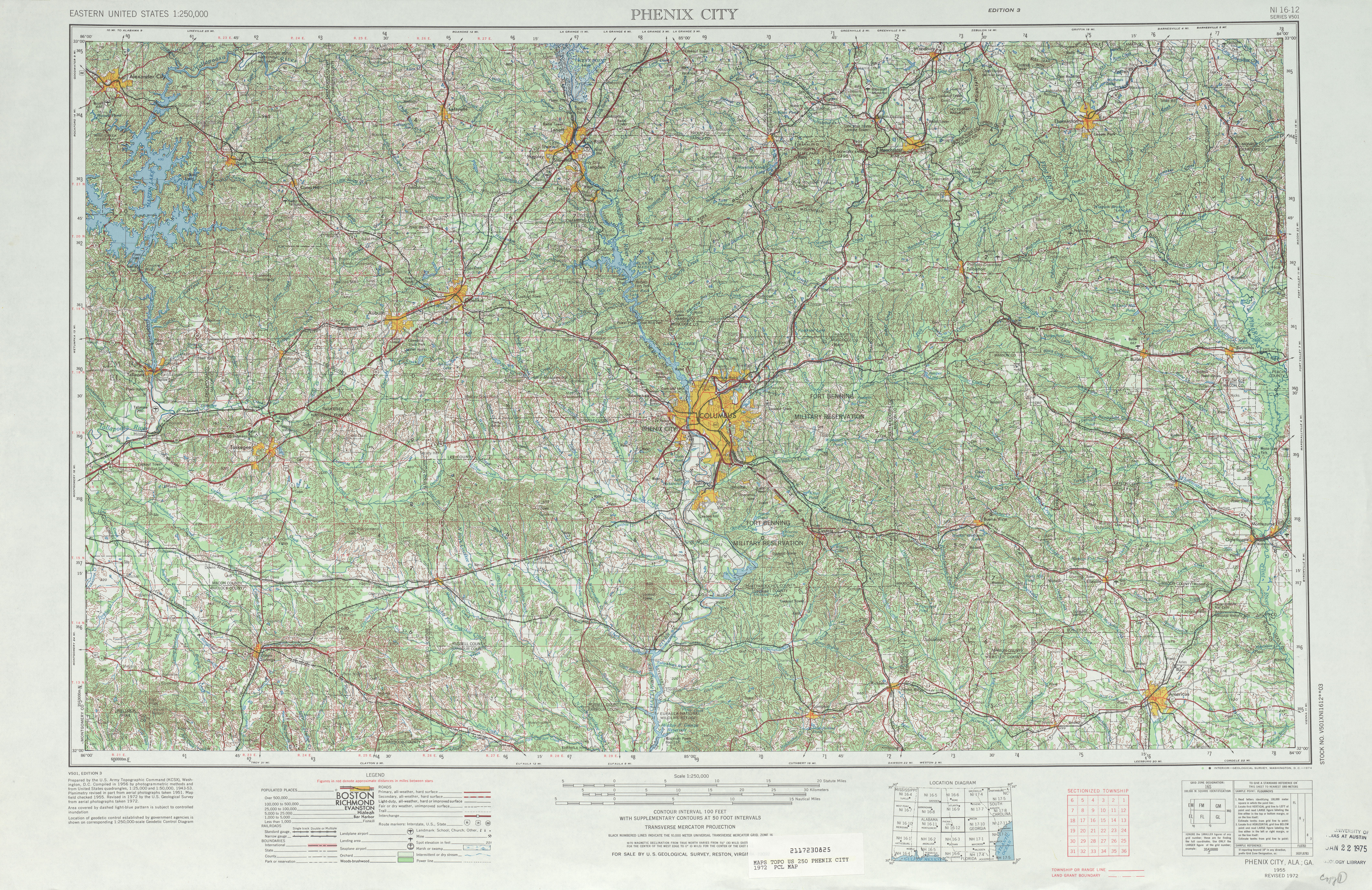 Georgia Historical Topographic Maps PerryCastañeda Map - City map of georgia