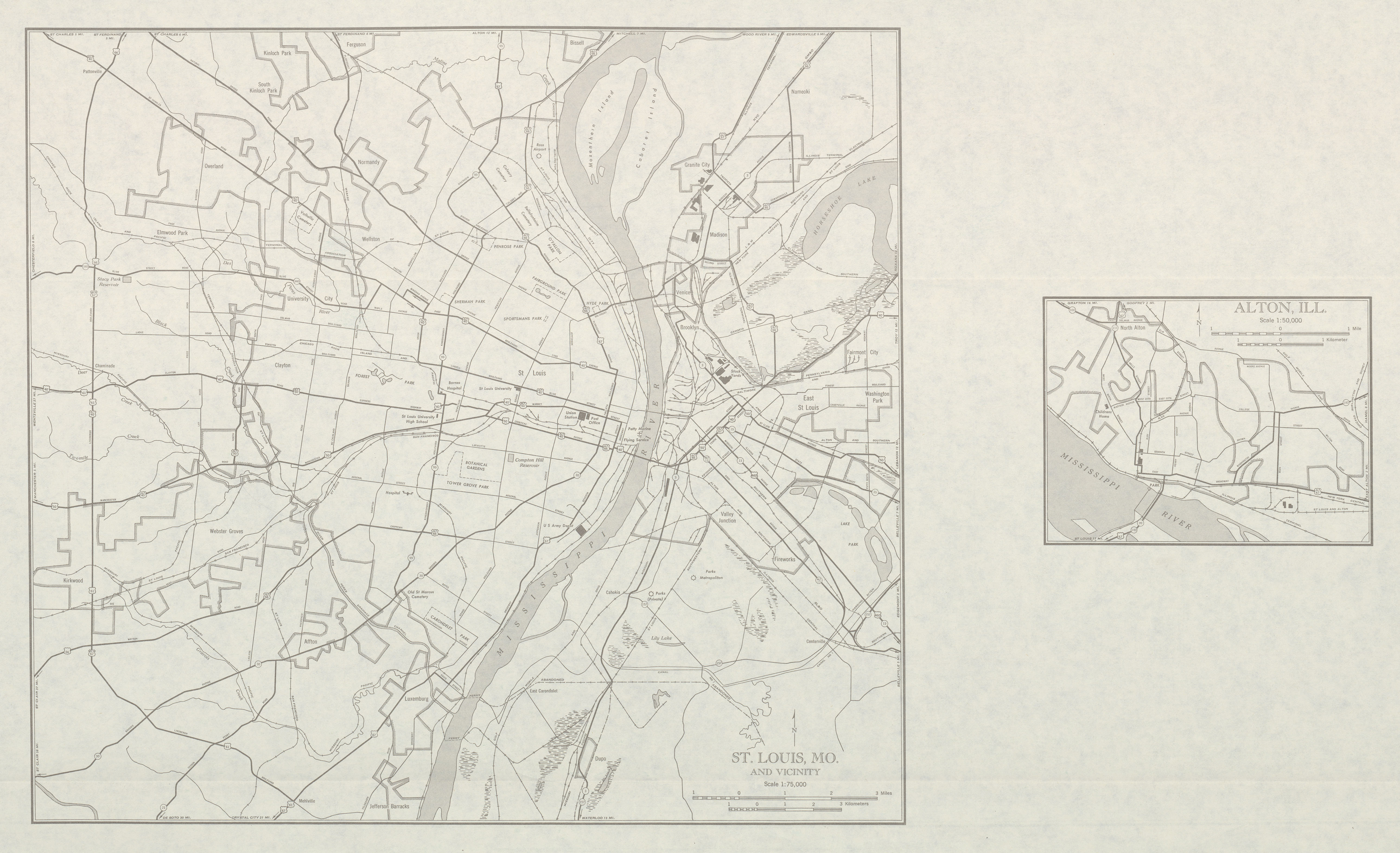 Maps Us Map St Louis - Topographical map us of 1804