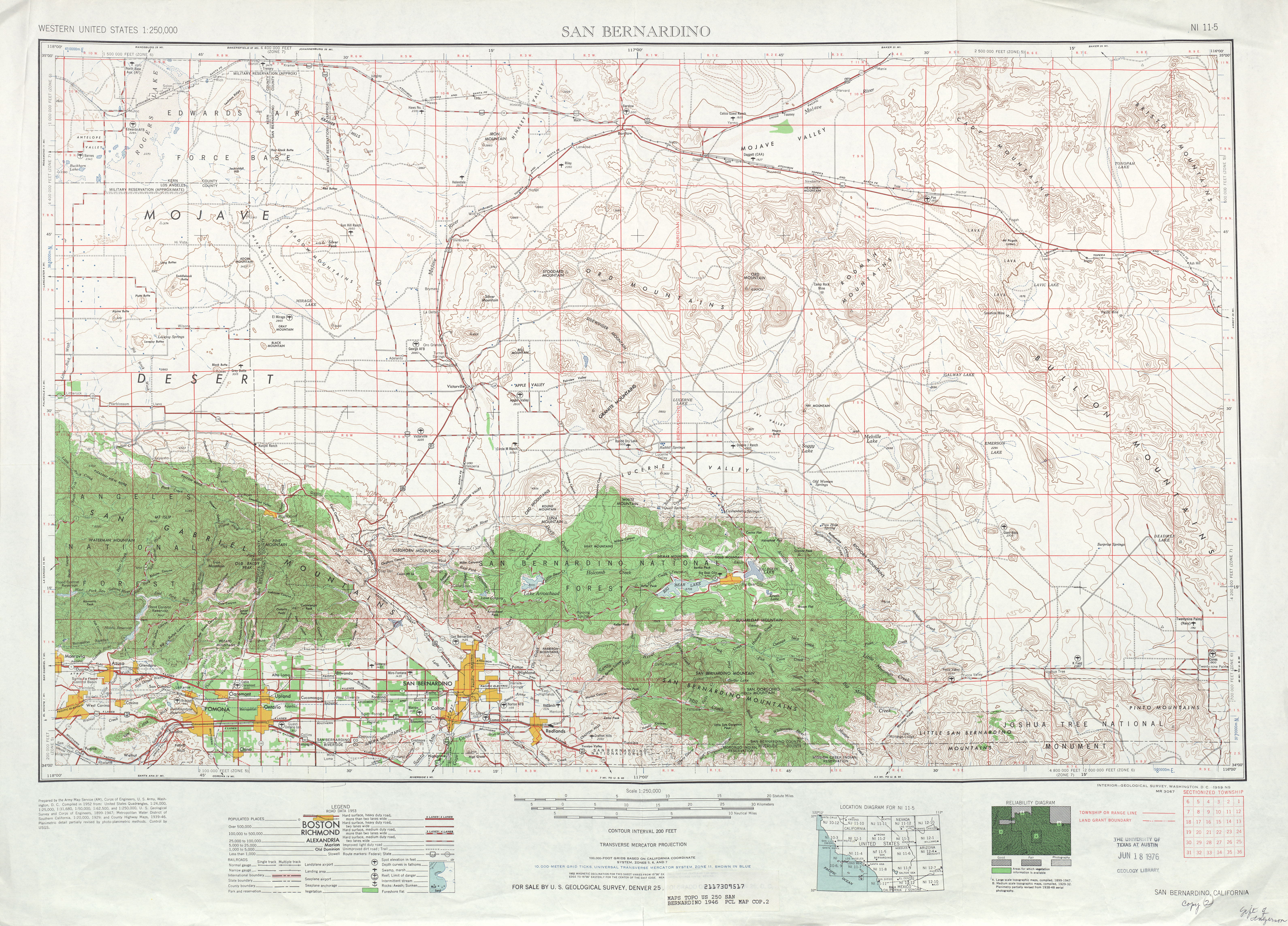Wrightwood Area Maps - Denver Circled On Us Map