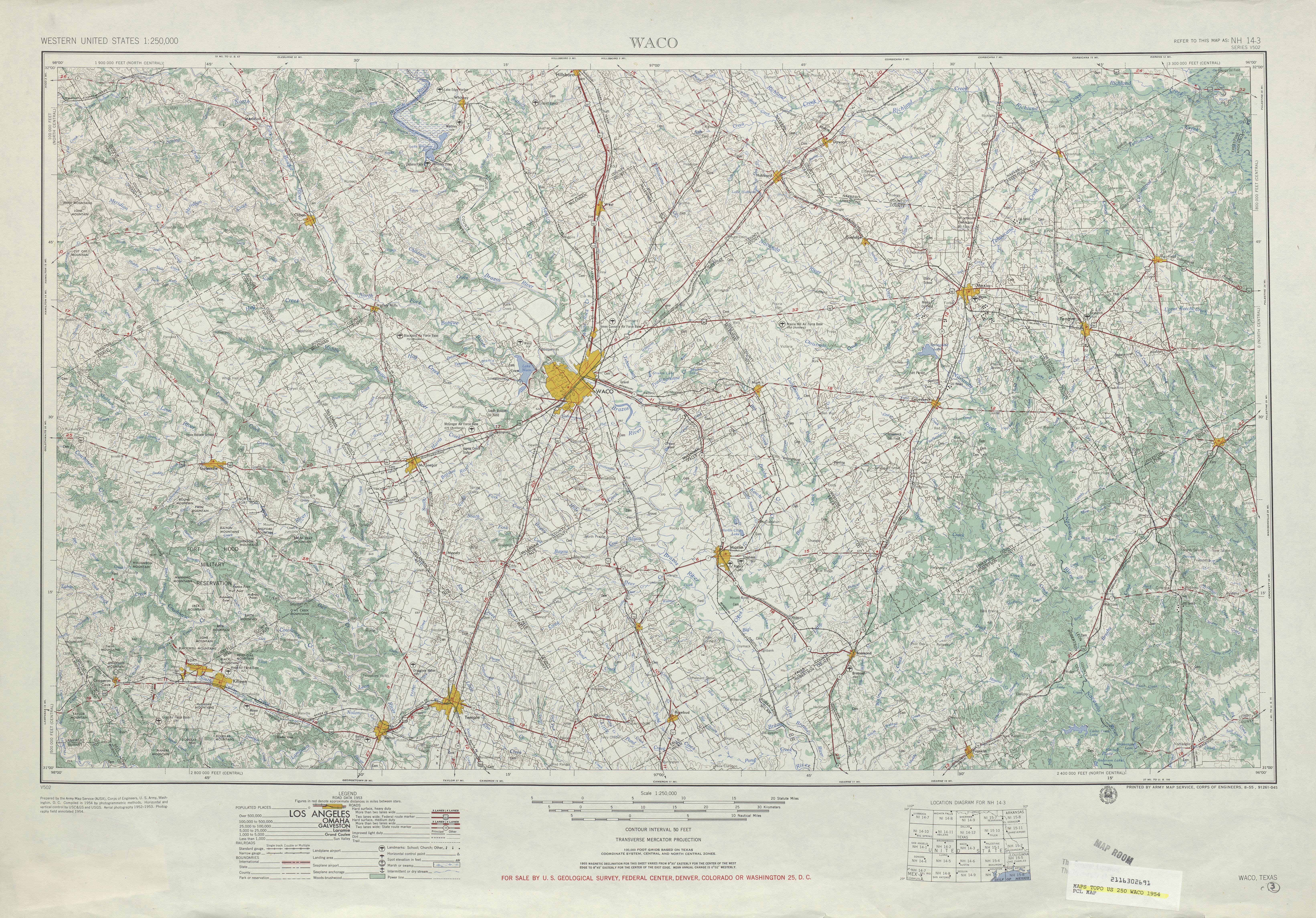 Texas Topographic Maps PerryCastañeda Map Collection UT - John wallis map of the us
