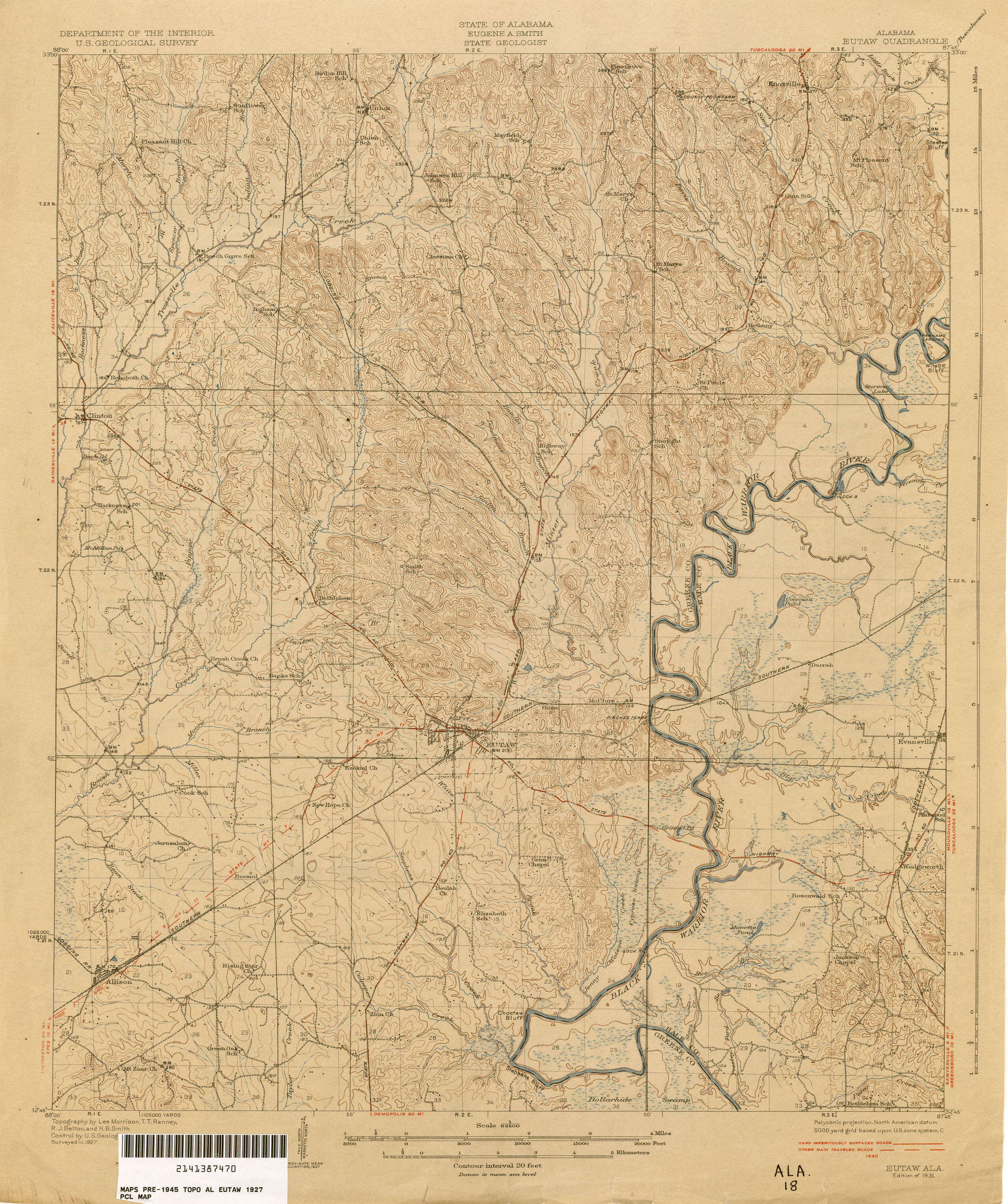 Alabama Topographic Maps PerryCastañeda Map Collection UT - Us geological topographic maps