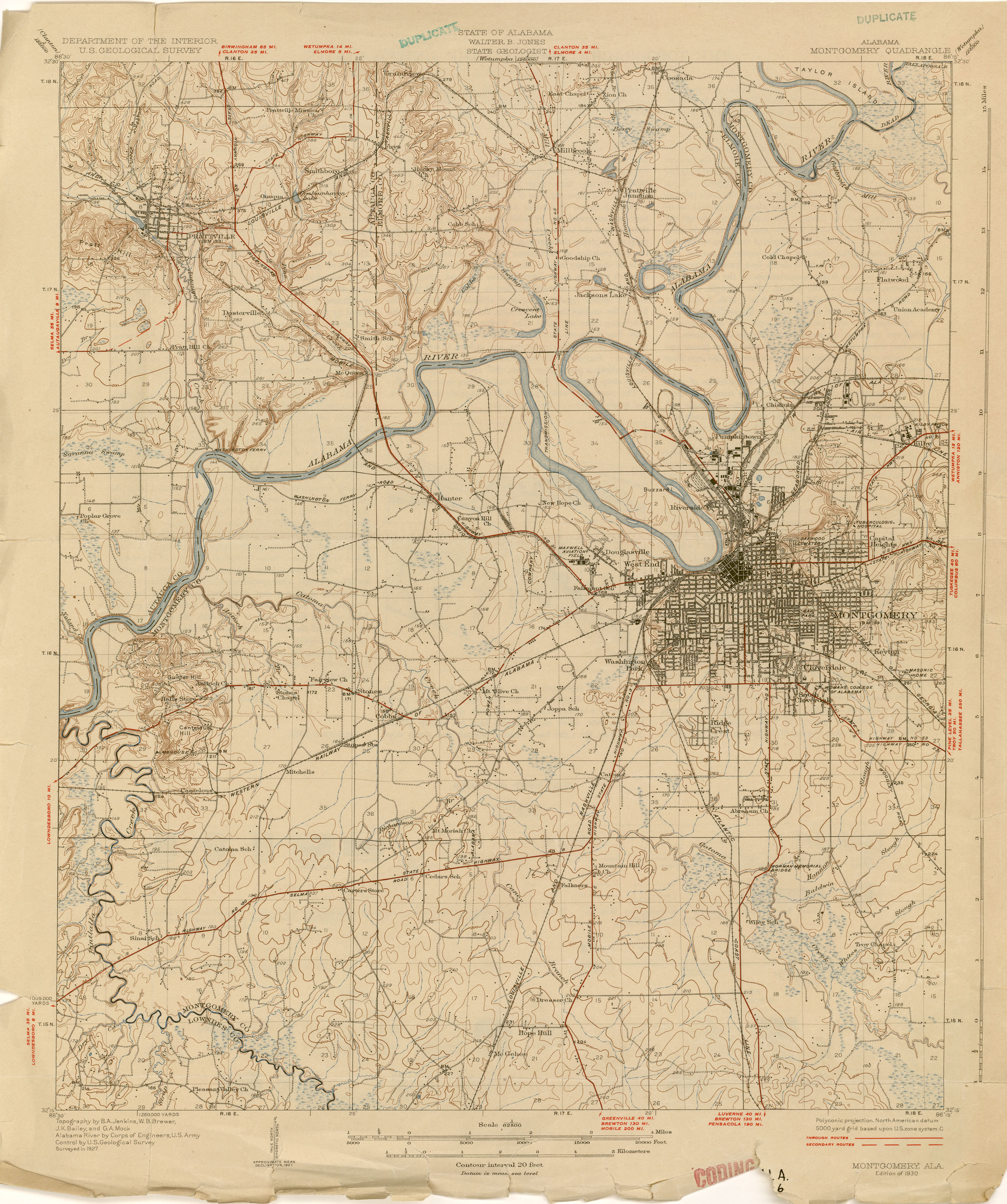 Alabama Topographic Maps PerryCastañeda Map Collection UT - Map of northern alabama