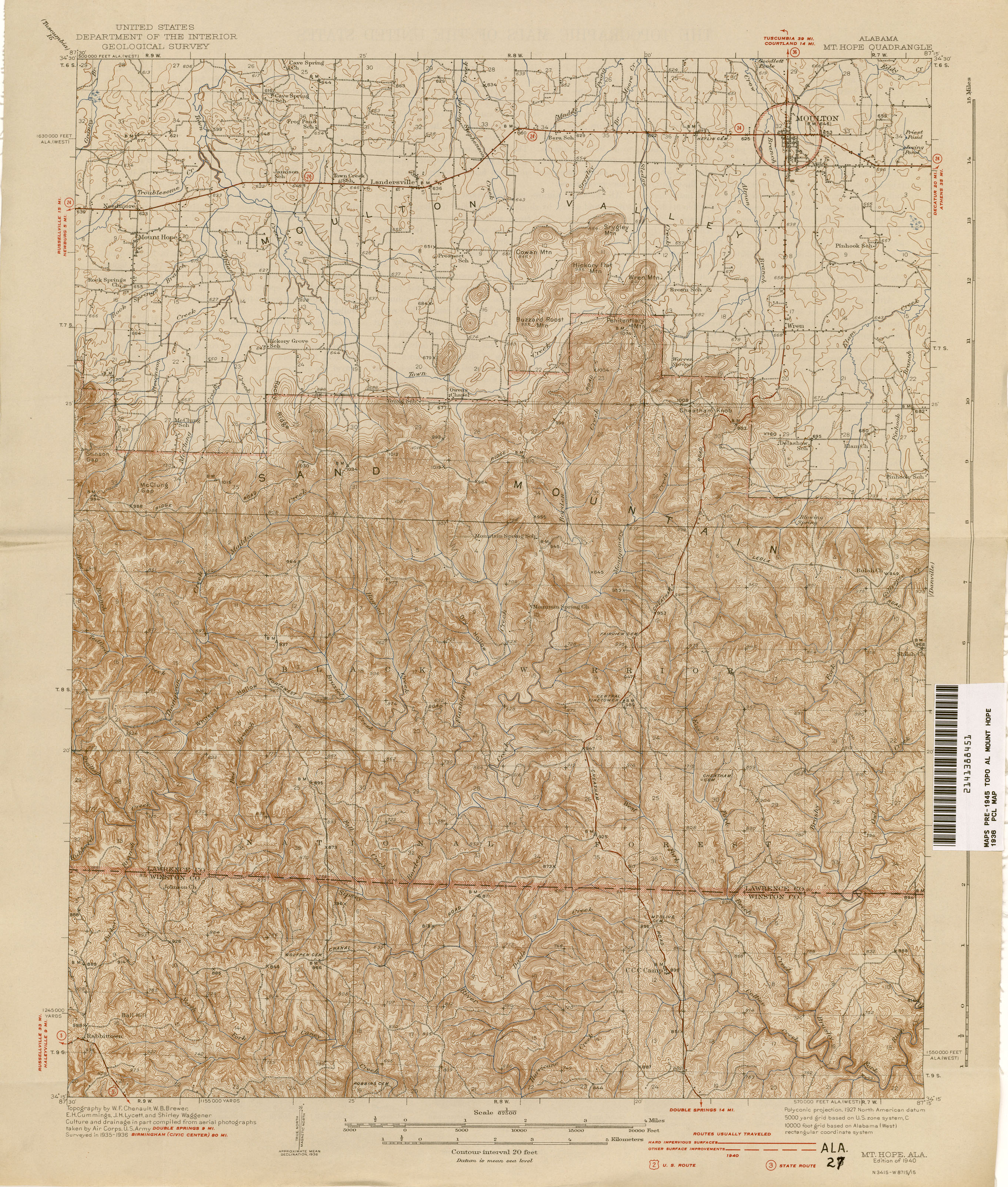 Alabama Topographic Maps PerryCastañeda Map Collection UT - Us topographic maps online