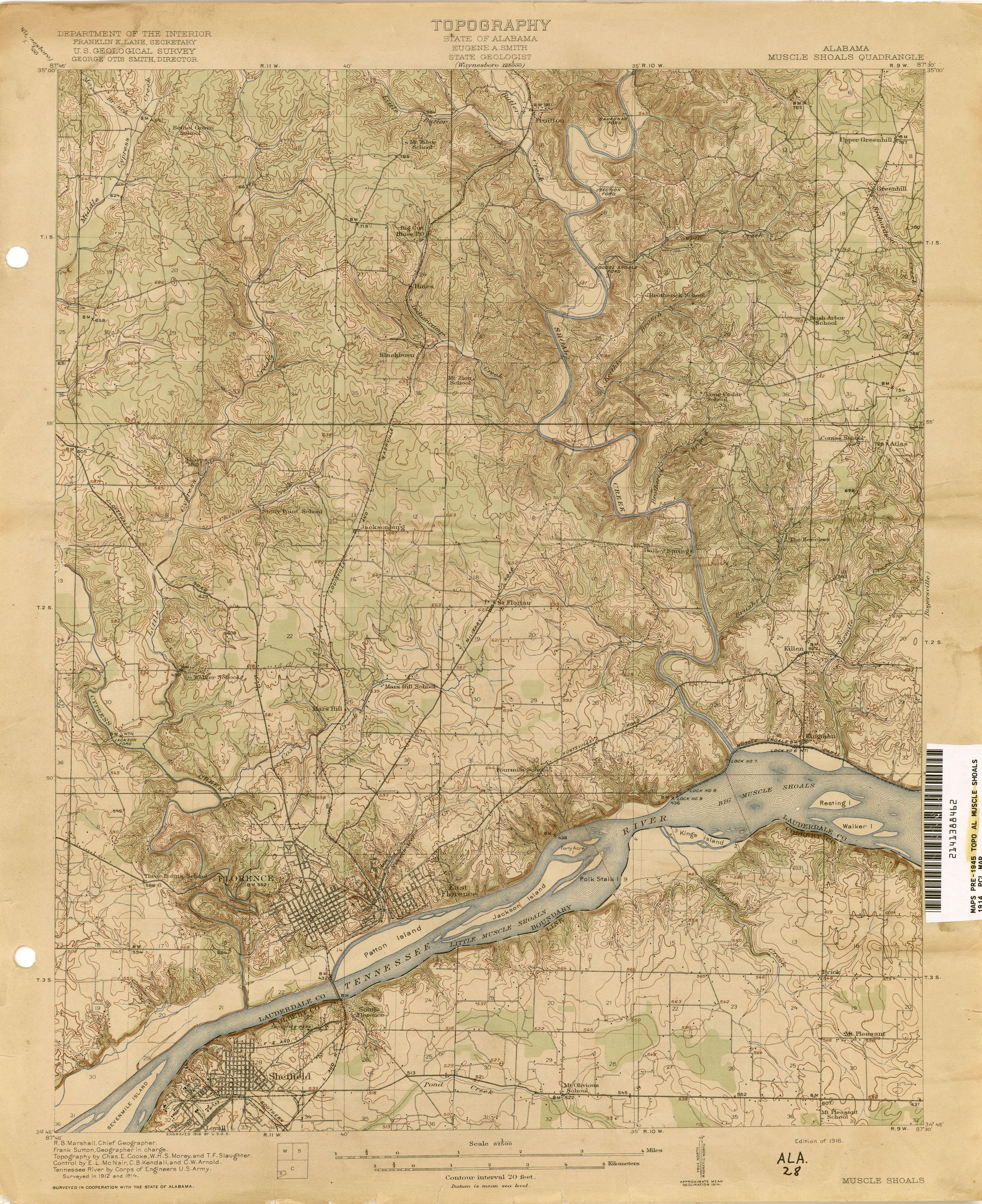Alabama Topographic Maps PerryCastañeda Map Collection UT - Map alabama