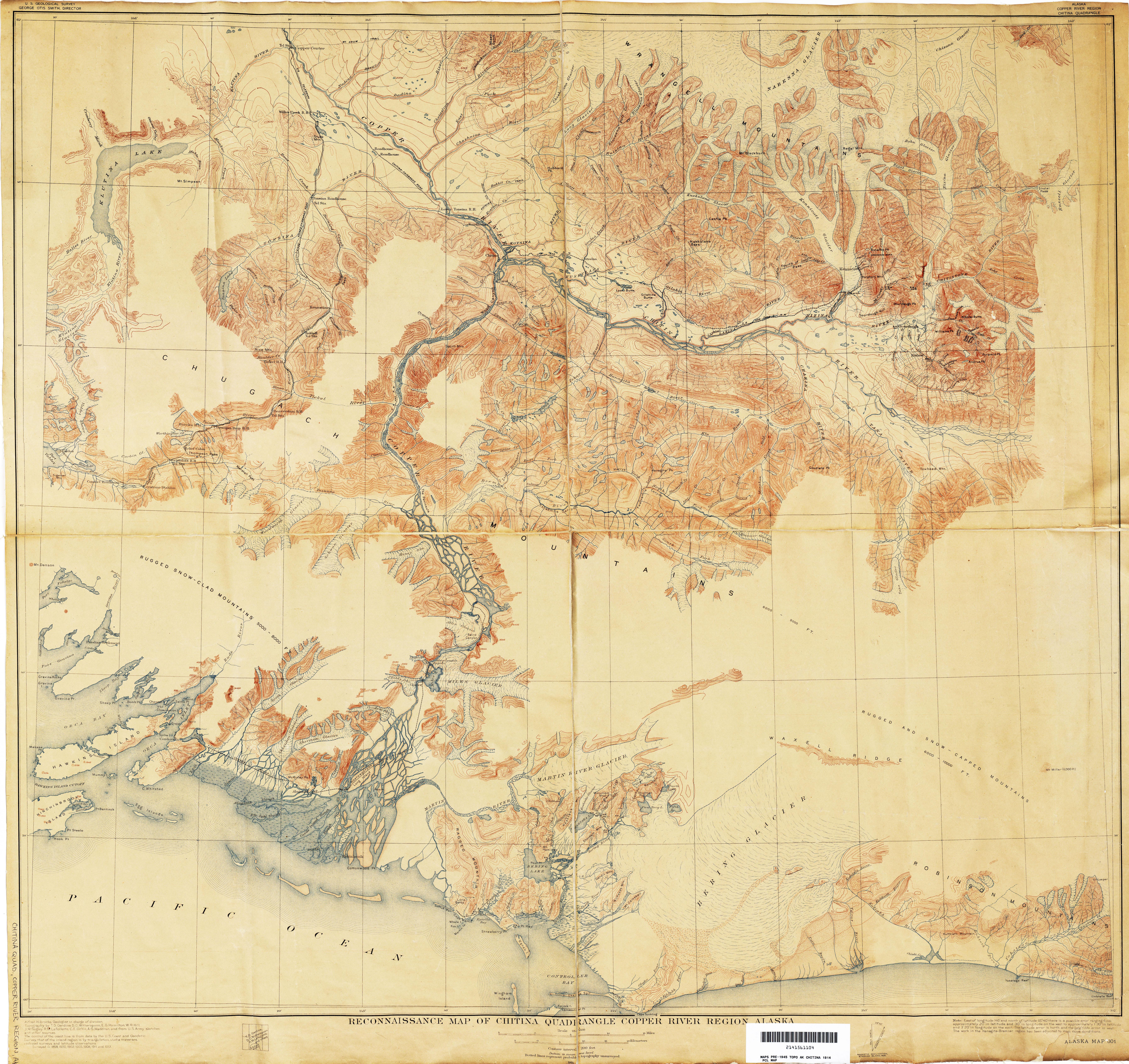 Alaska Historical Topographic Maps  PerryCastaeda Map
