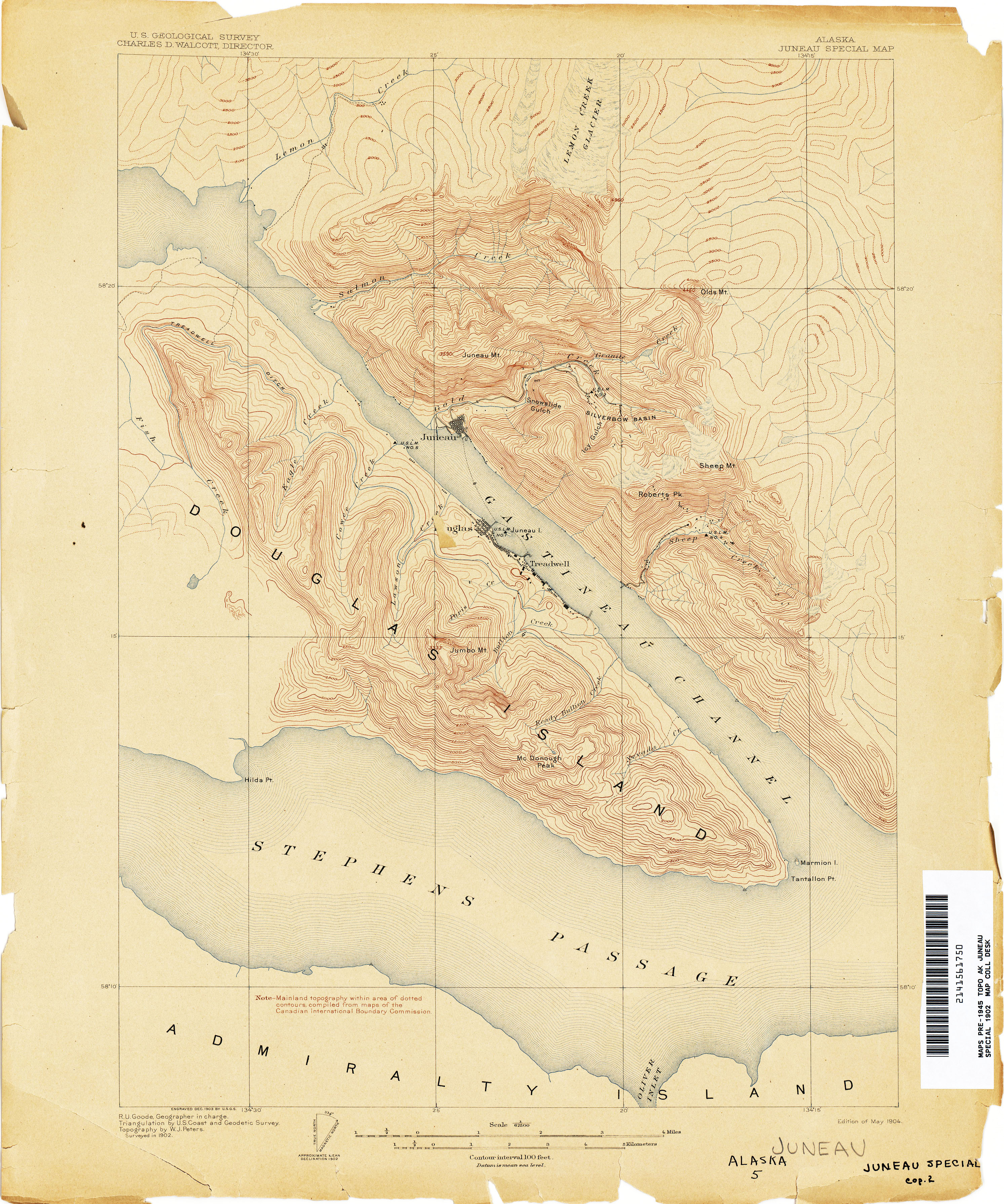 Alaska Historical Topographic Maps Perry Castaneda Map Collection