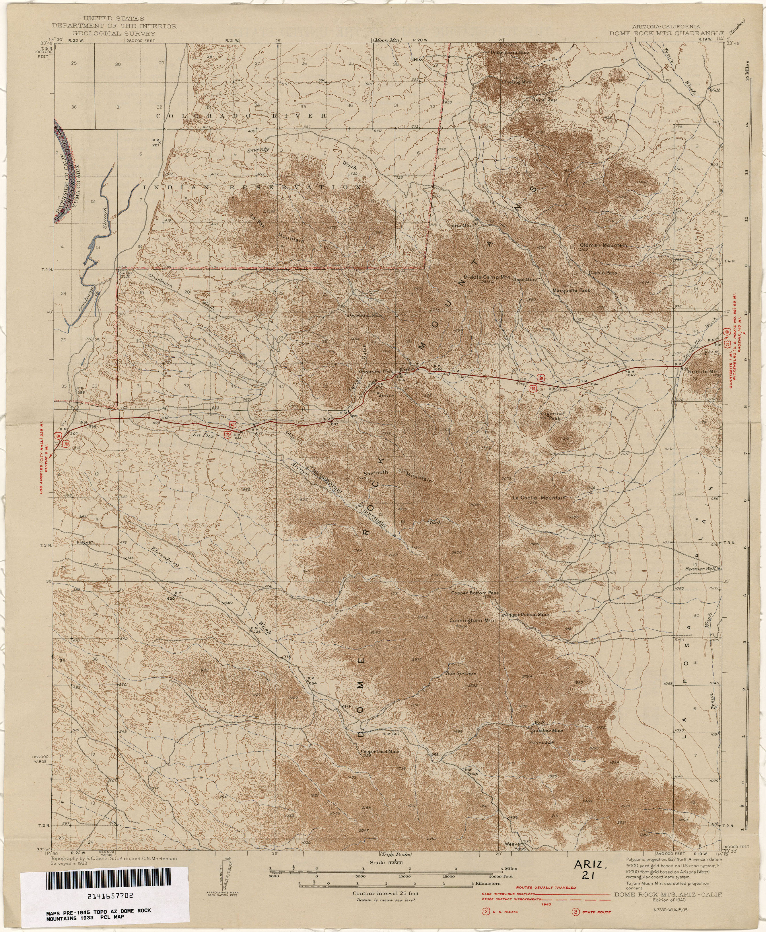 Arizona Historical Topographic Maps PerryCastañeda Map - Us geological topographic maps