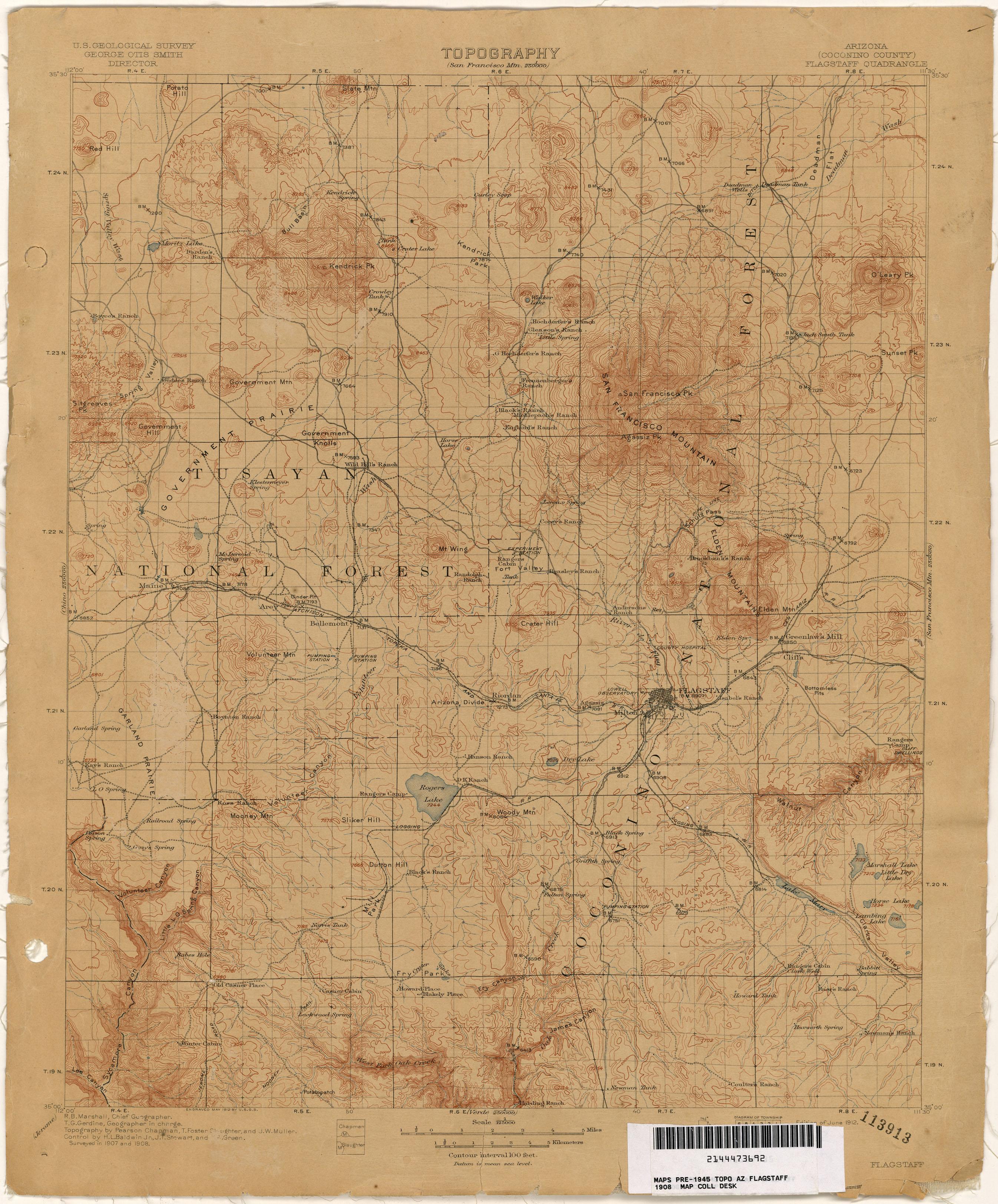 Arizona Historical Topographic Maps PerryCastaeda Map Collection