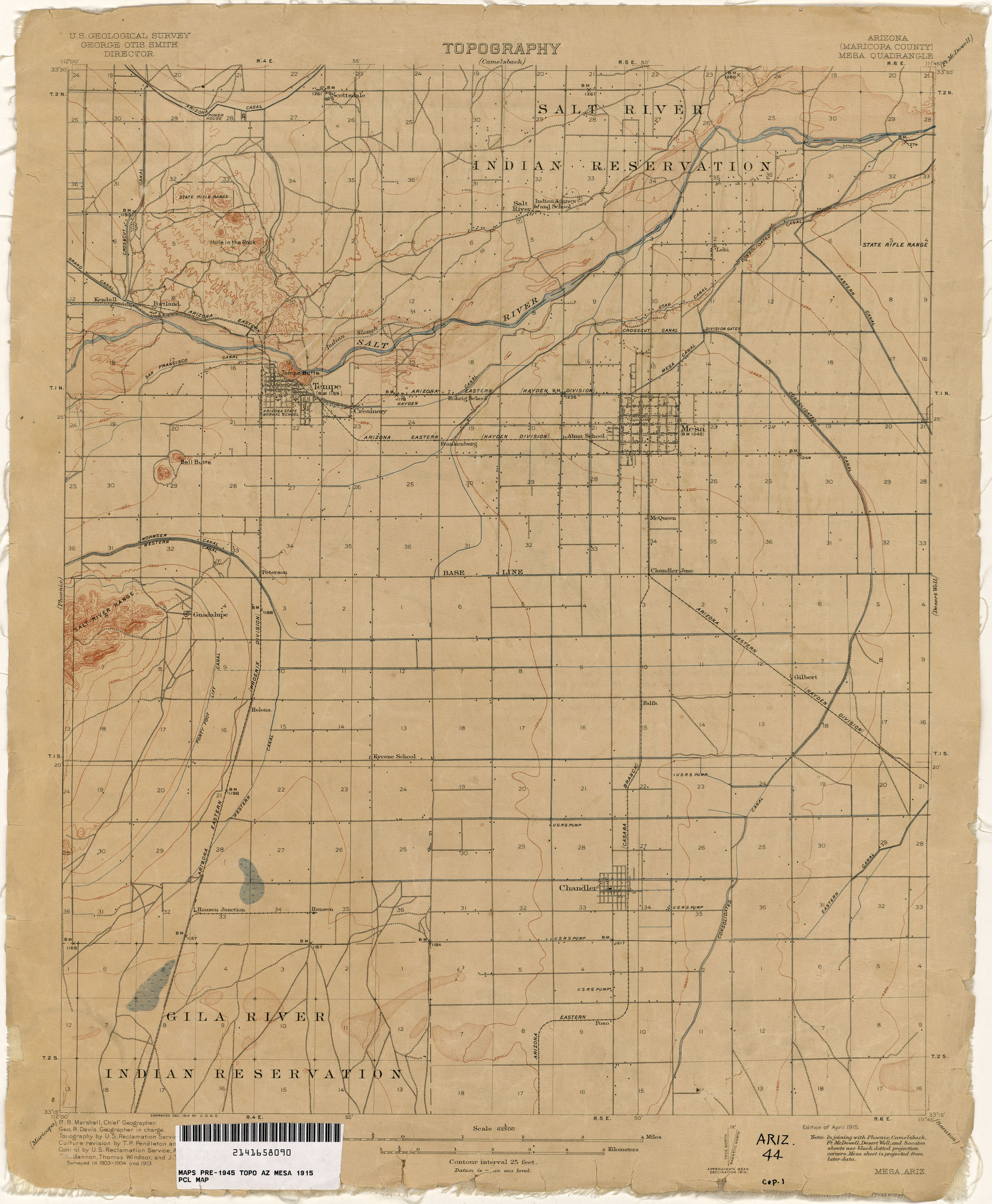 Map Of Arizona 1880.Arizona Historical Topographic Maps Perry Castaneda Map Collection