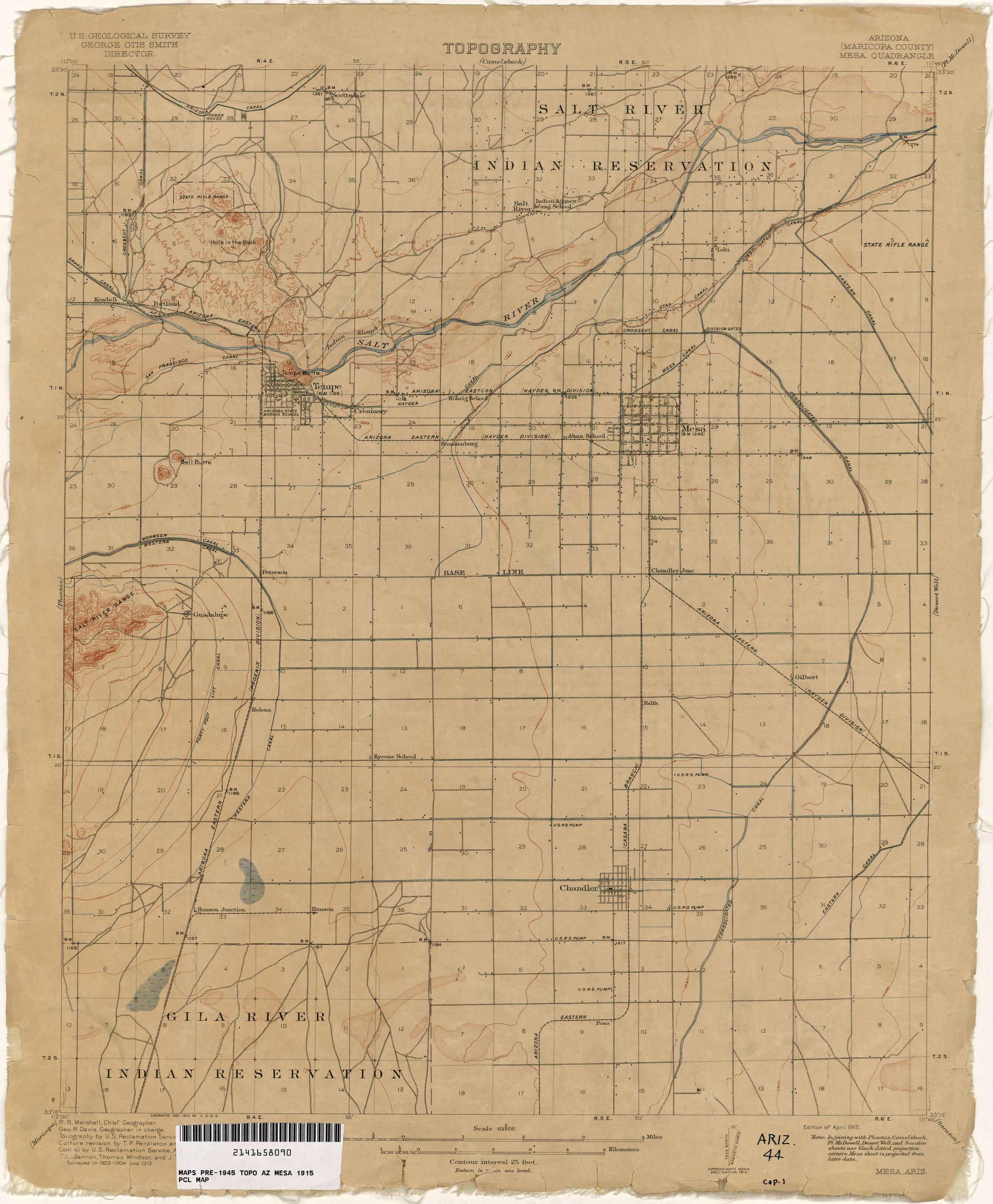 Old Us Arizona Map - Old us 80 arizona map