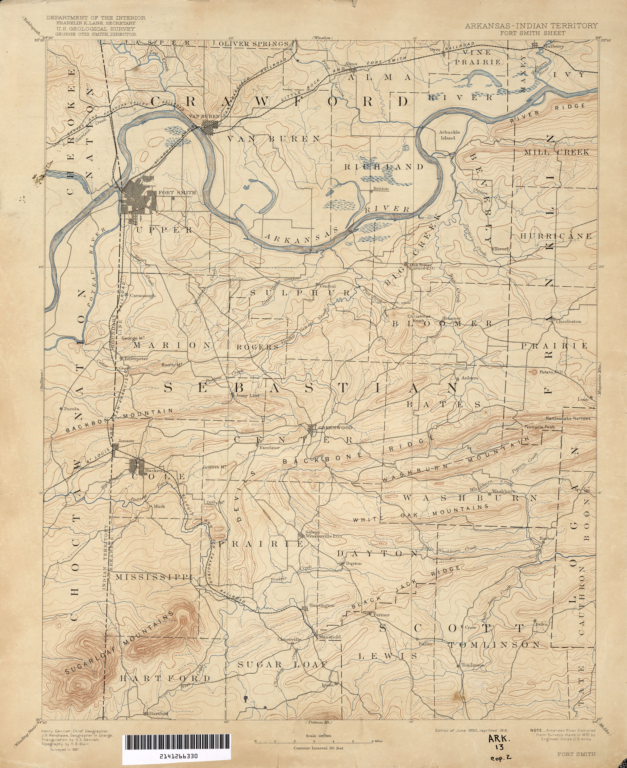 Oklahoma Historical Topographic Maps PerryCastañeda Map - Us indian territory 1800s map
