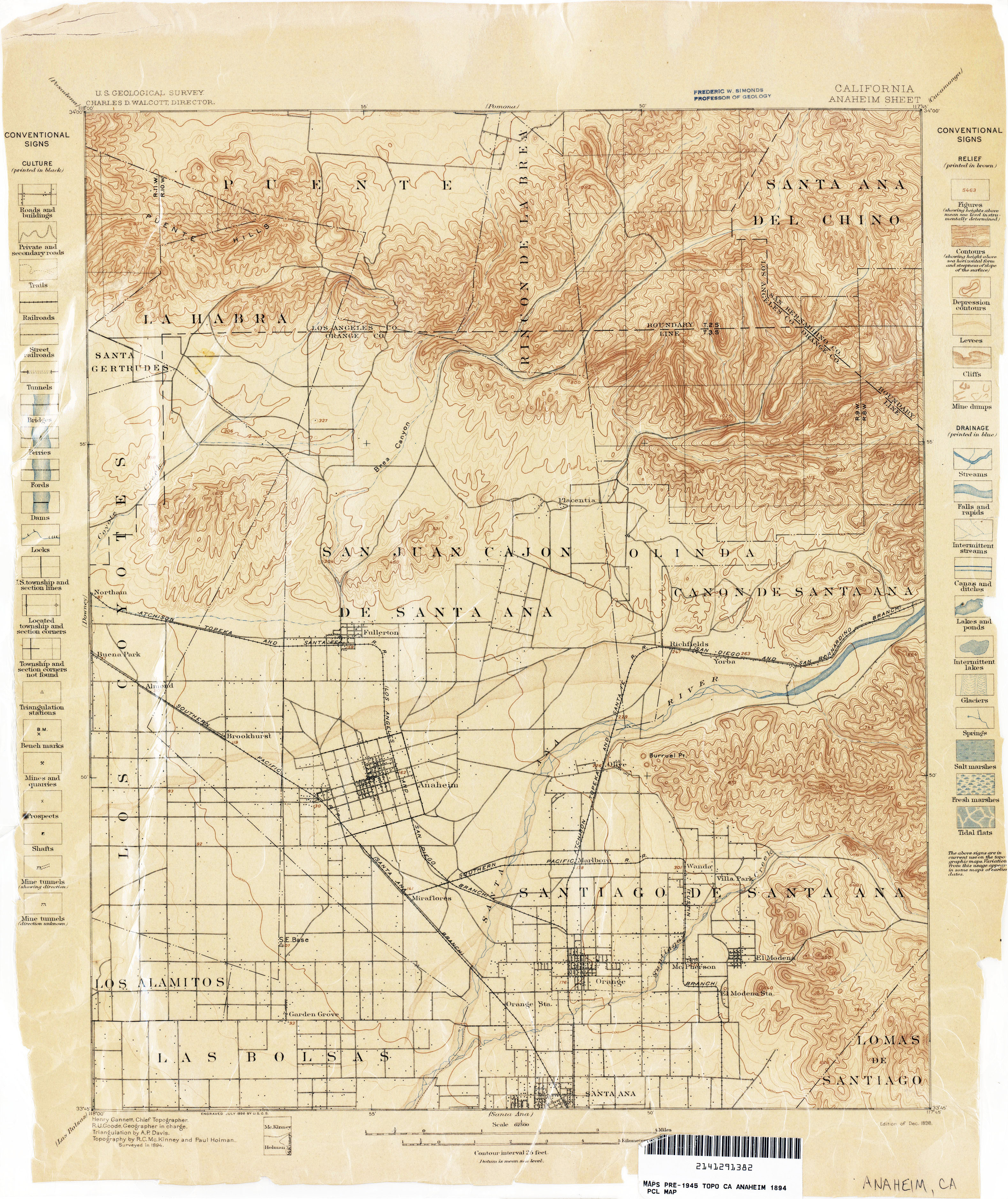 California Topographic Maps PerryCastañeda Map Collection UT - Map ca