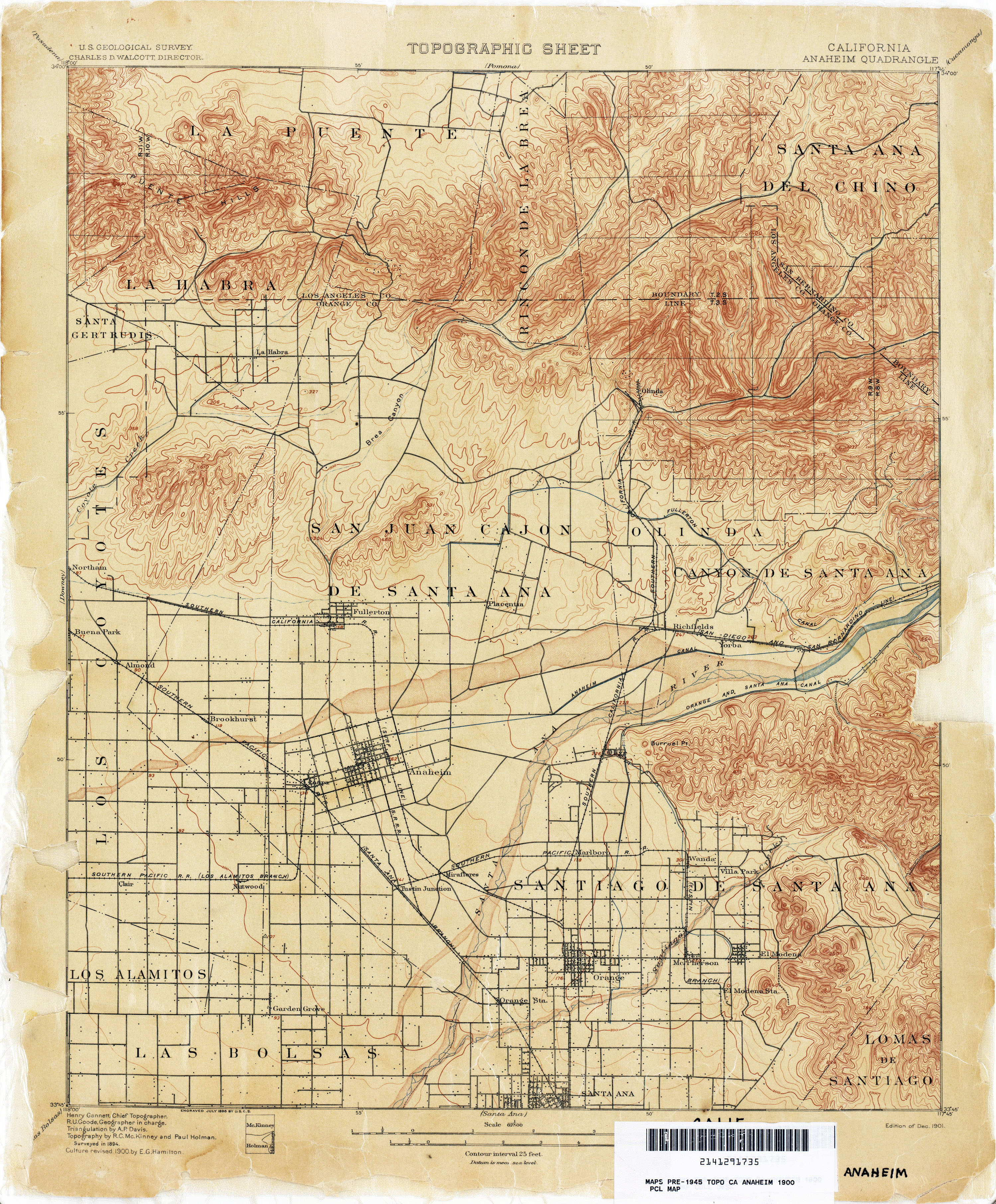 California Topographic Maps - Perry-Castañeda Map Collection - UT ...
