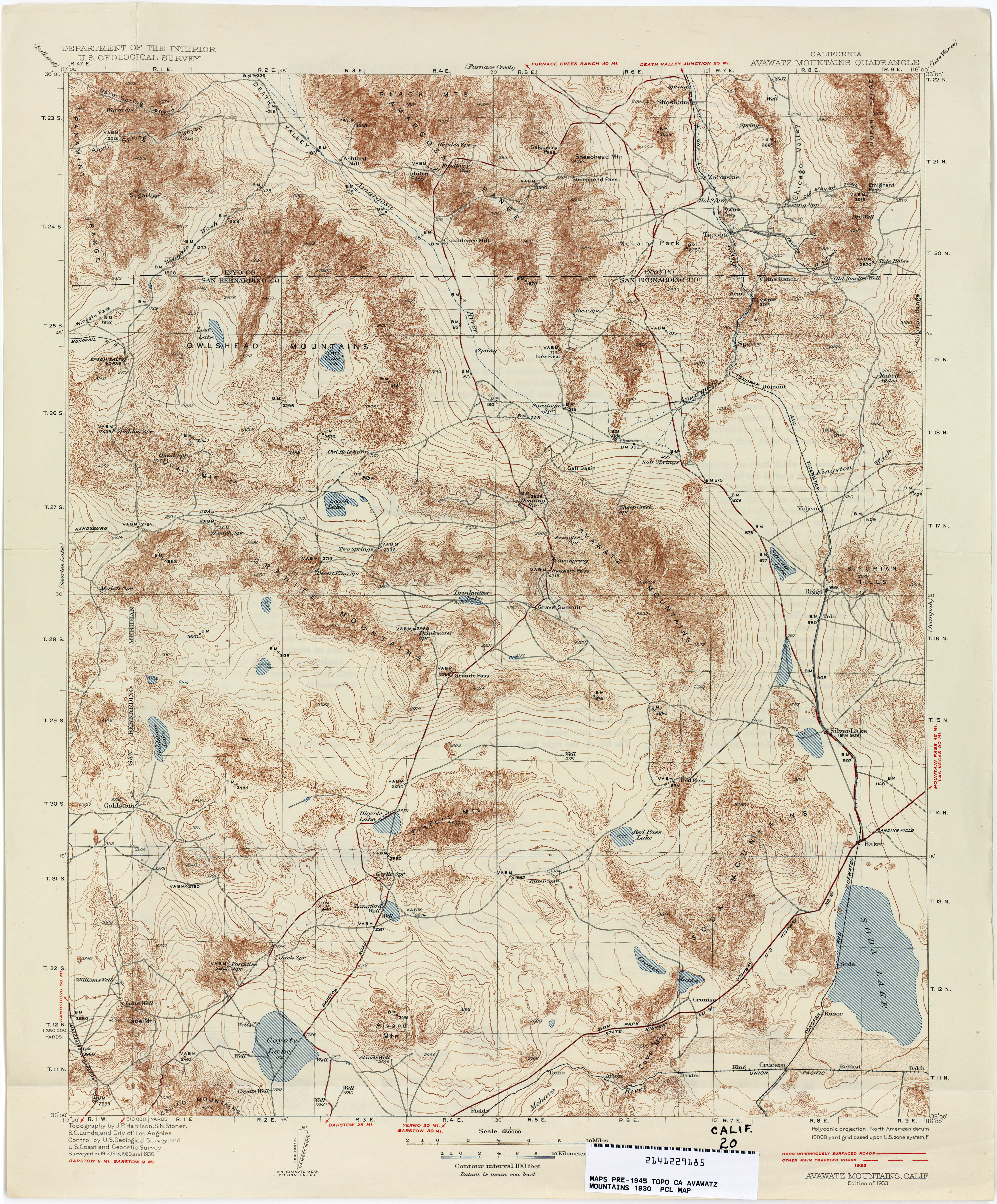 California Topographic Maps PerryCastañeda Map Collection UT - Cal map