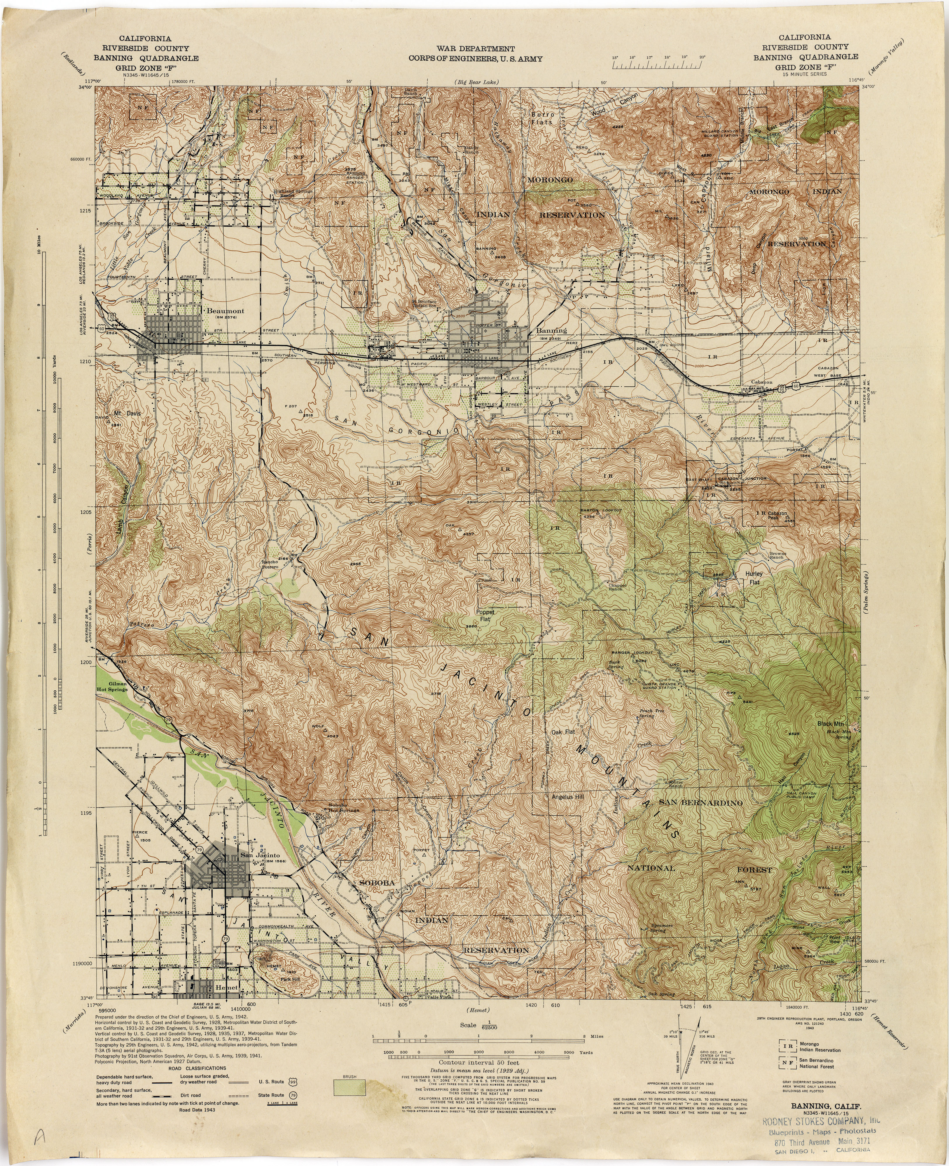 California Topographic Maps PerryCastañeda Map Collection UT - California map riverside county
