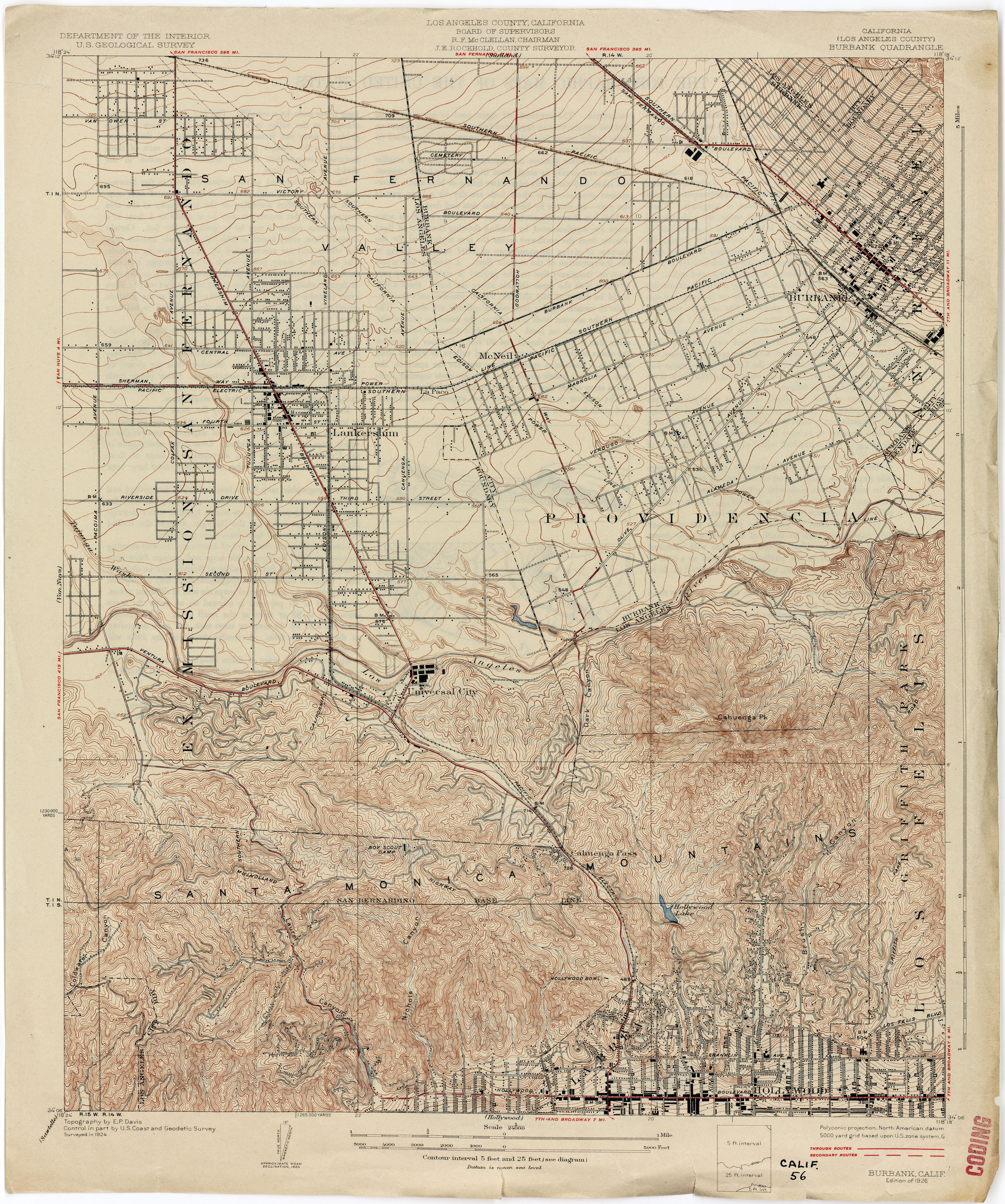 California Topographic Maps Perry Castaneda Map Collection Ut