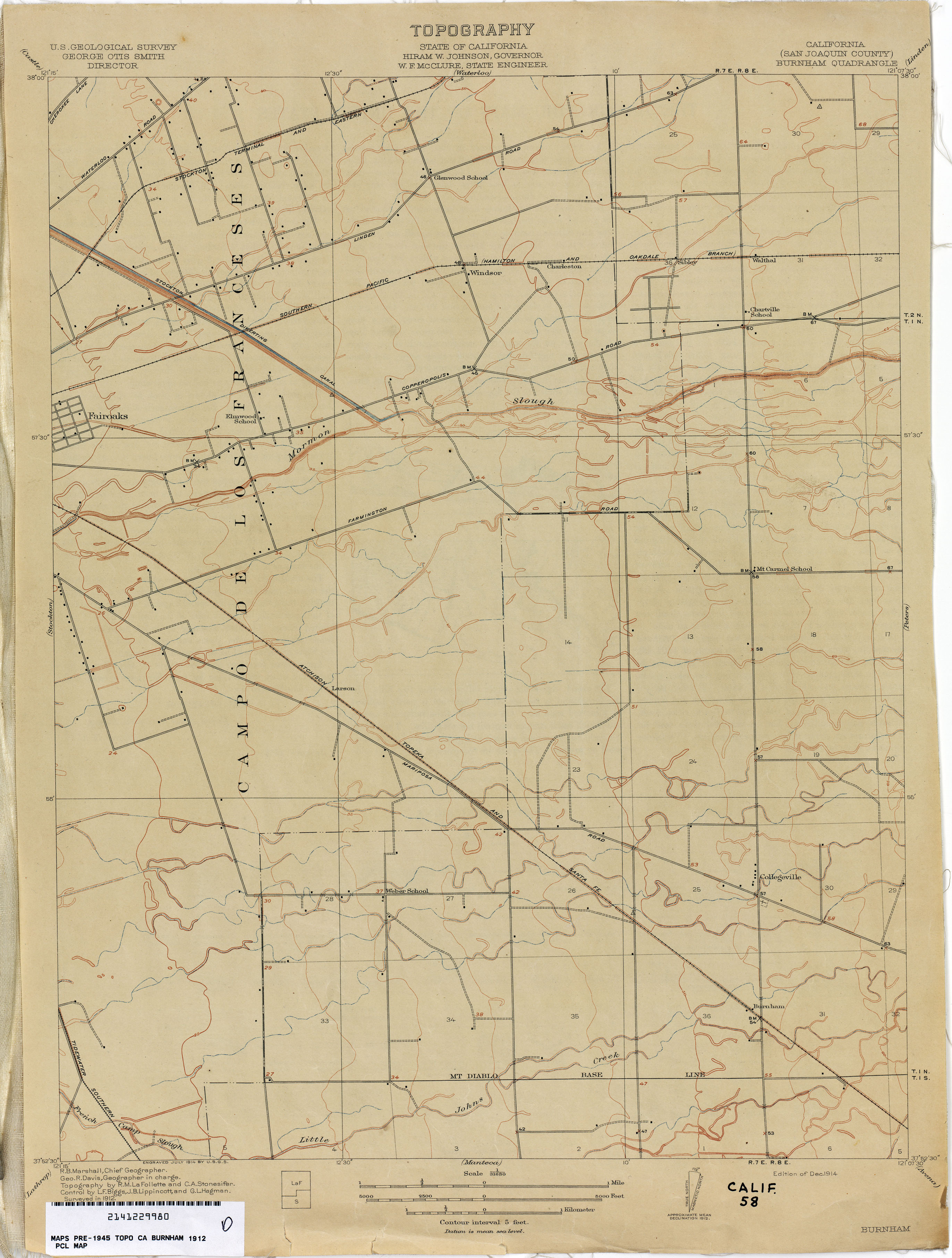 Linden California Map.California Topographic Maps Perry Castaneda Map Collection Ut