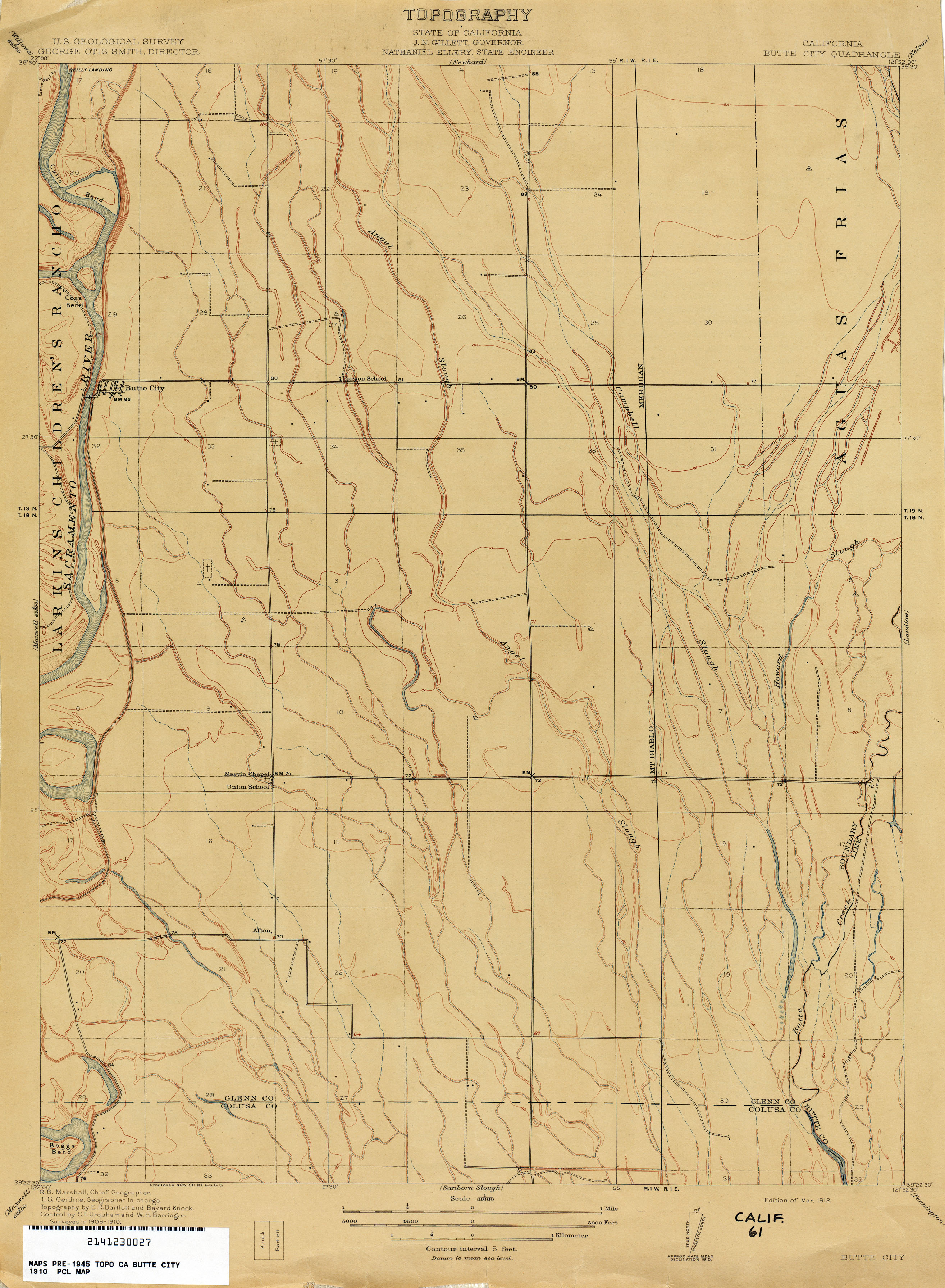 California Topographic Maps PerryCastañeda Map Collection UT - Maps of ca