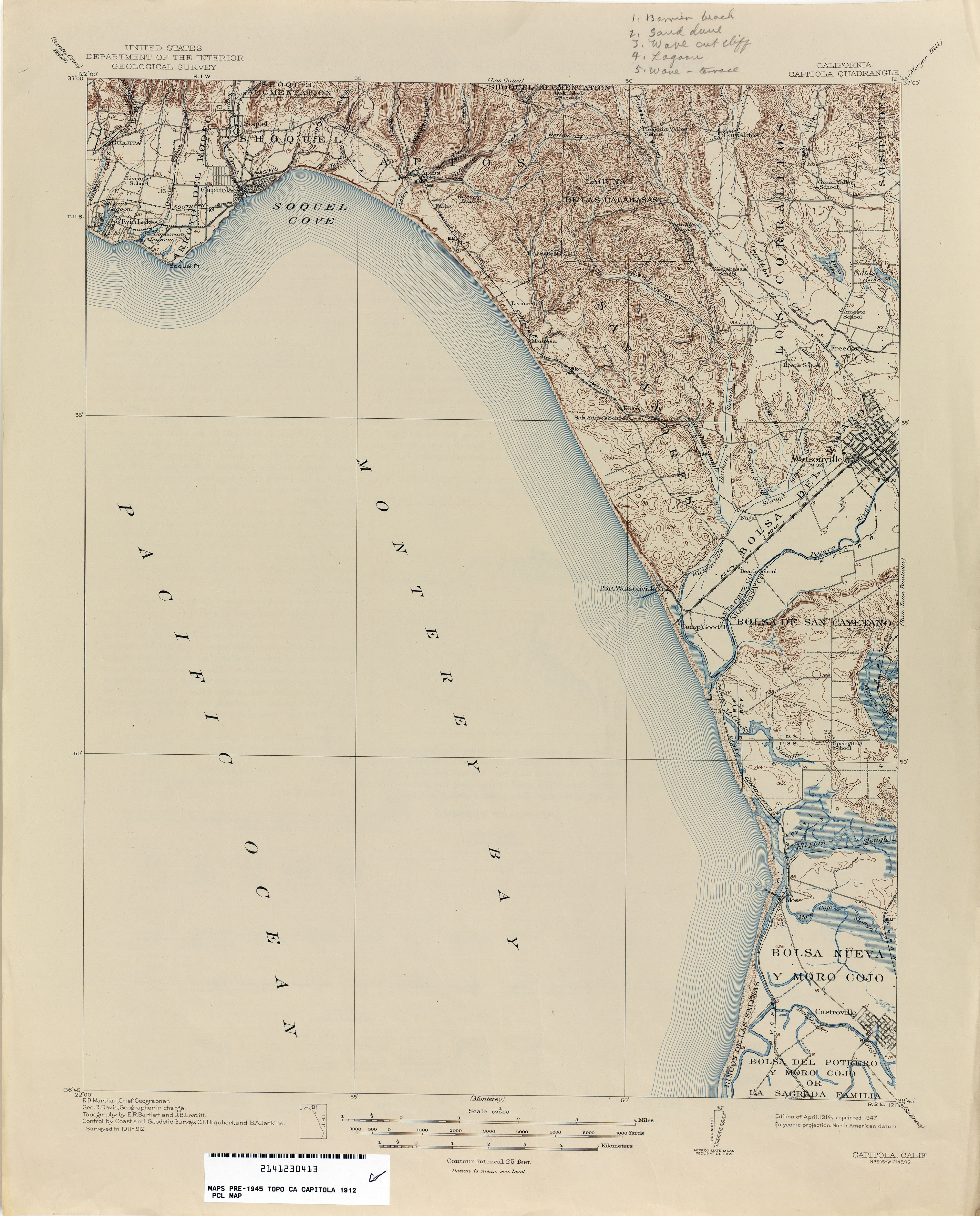 California Topographic Maps - Perry-Castañeda Map Collection - UT on