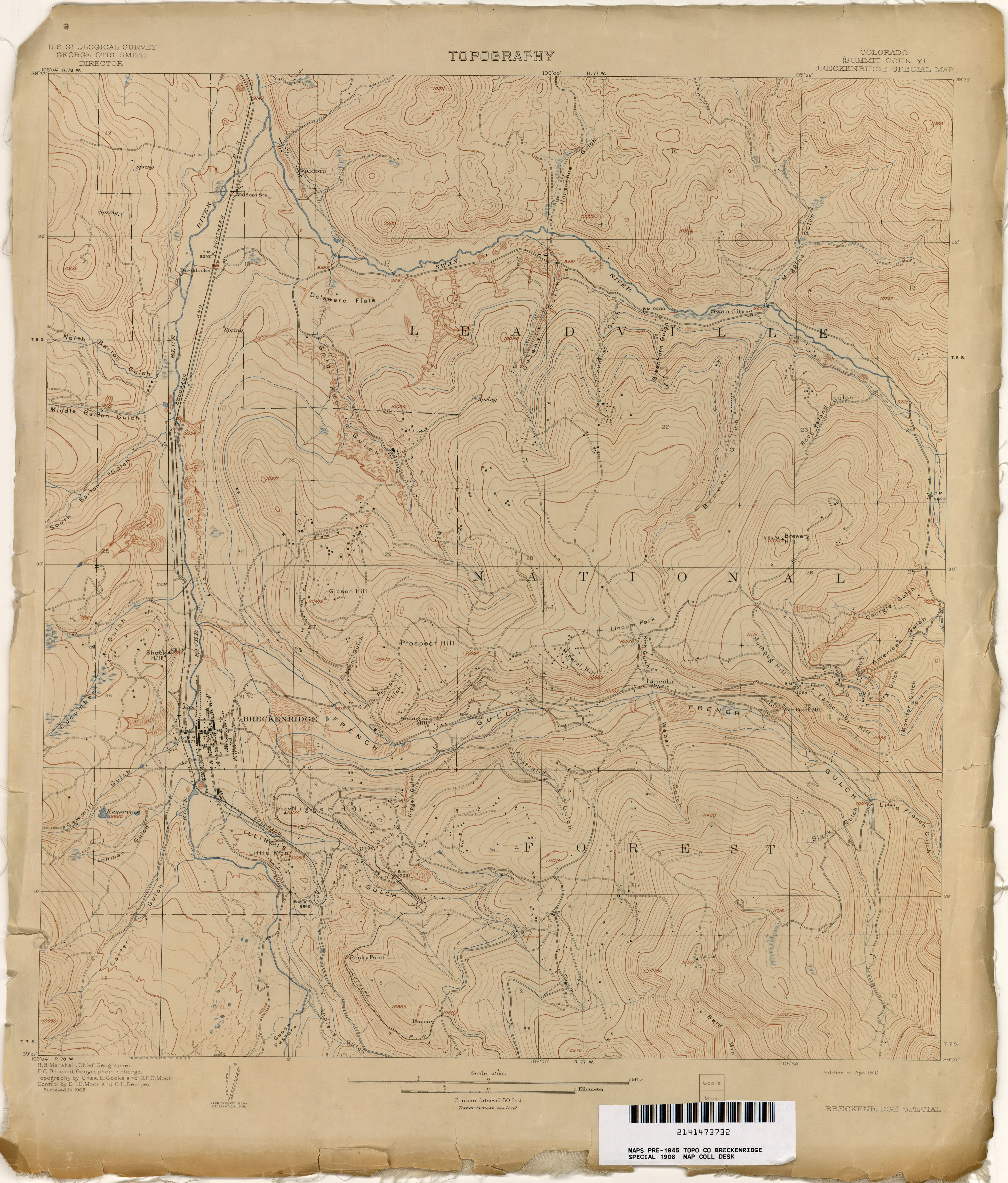 Colorado Historical Topographic Maps PerryCastañeda Map - Map of colrado