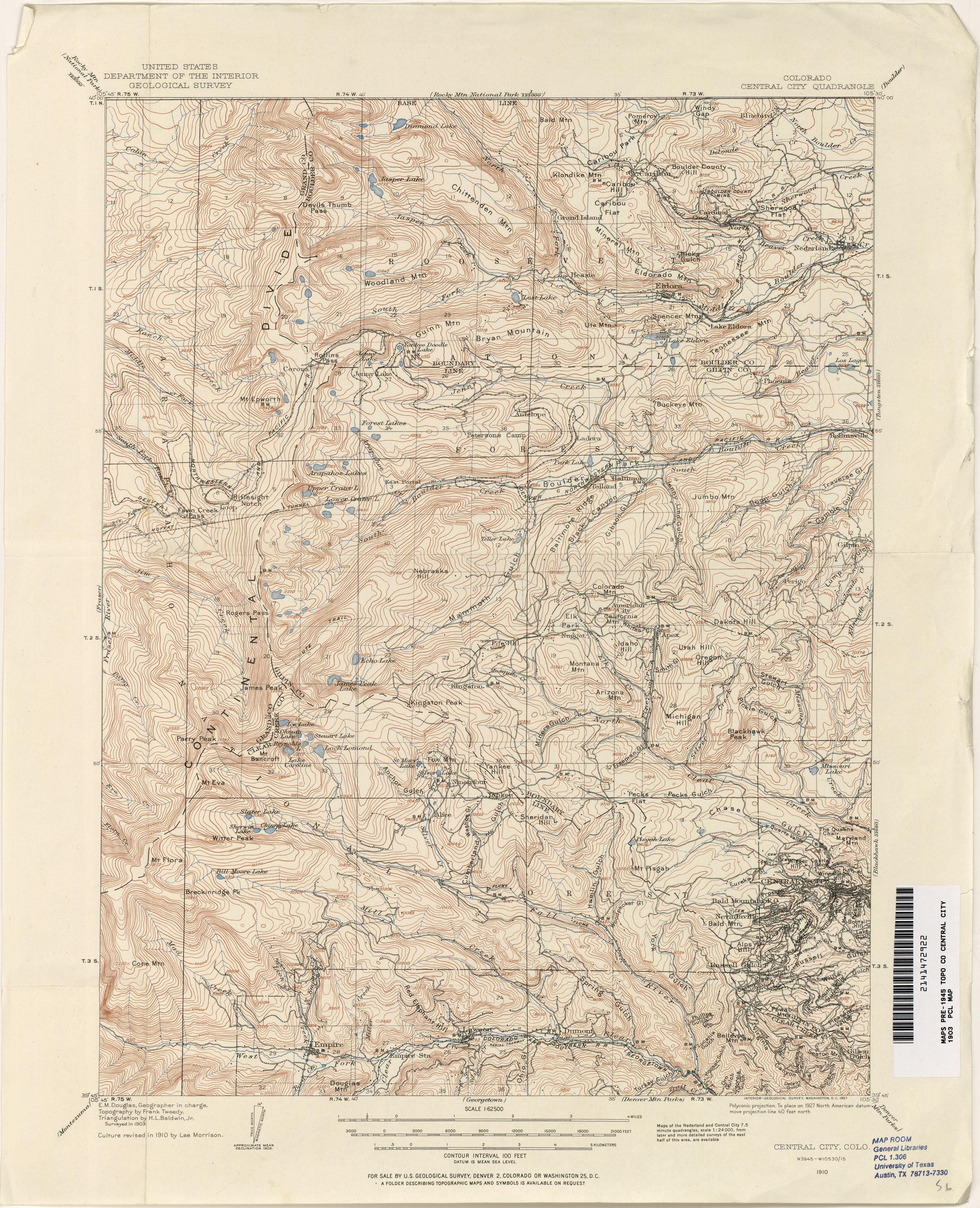 Colorado Historical Topographic Maps