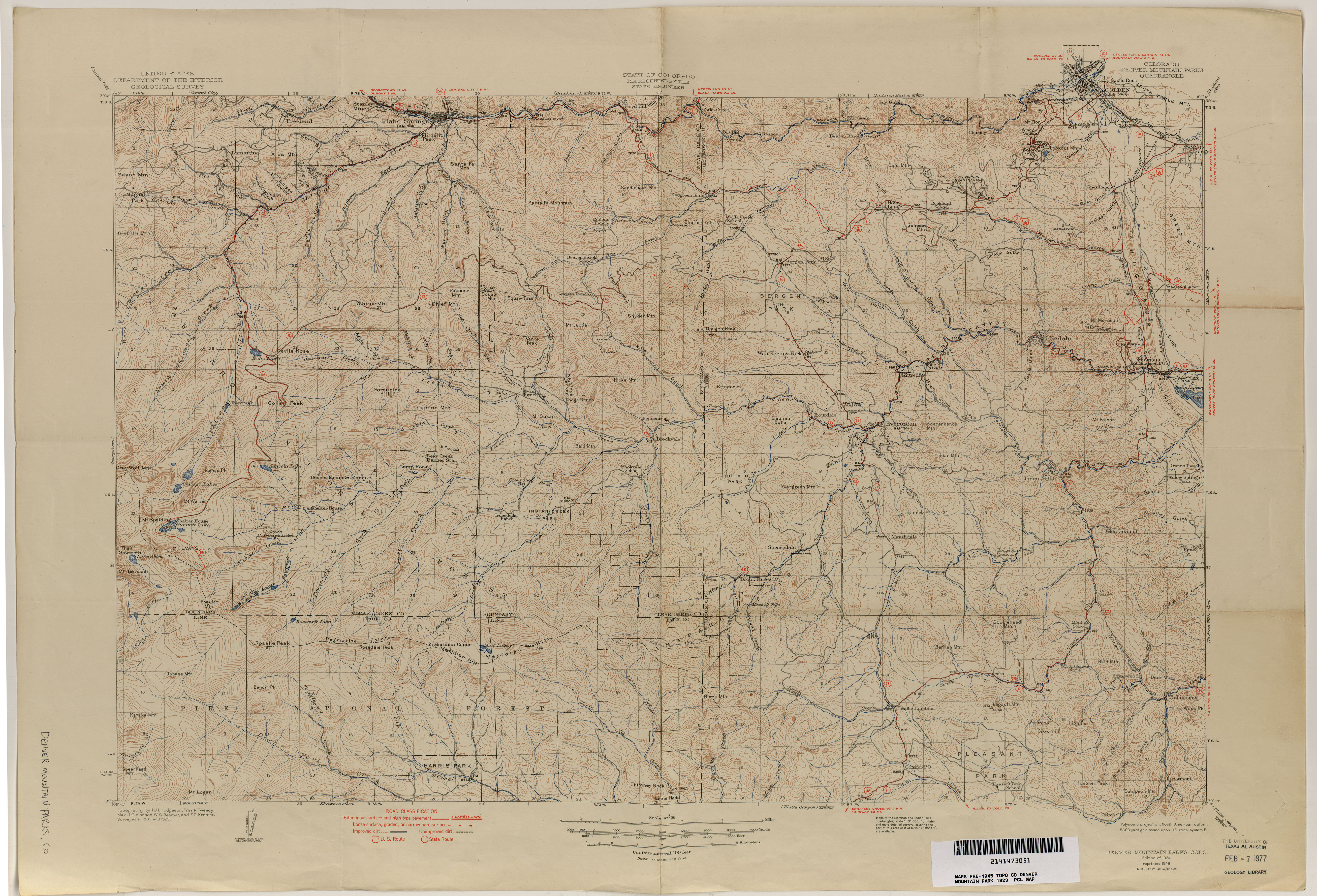 Colorado Historical Topographic Maps PerryCastañeda Map - Topographic map of us mountain ranges
