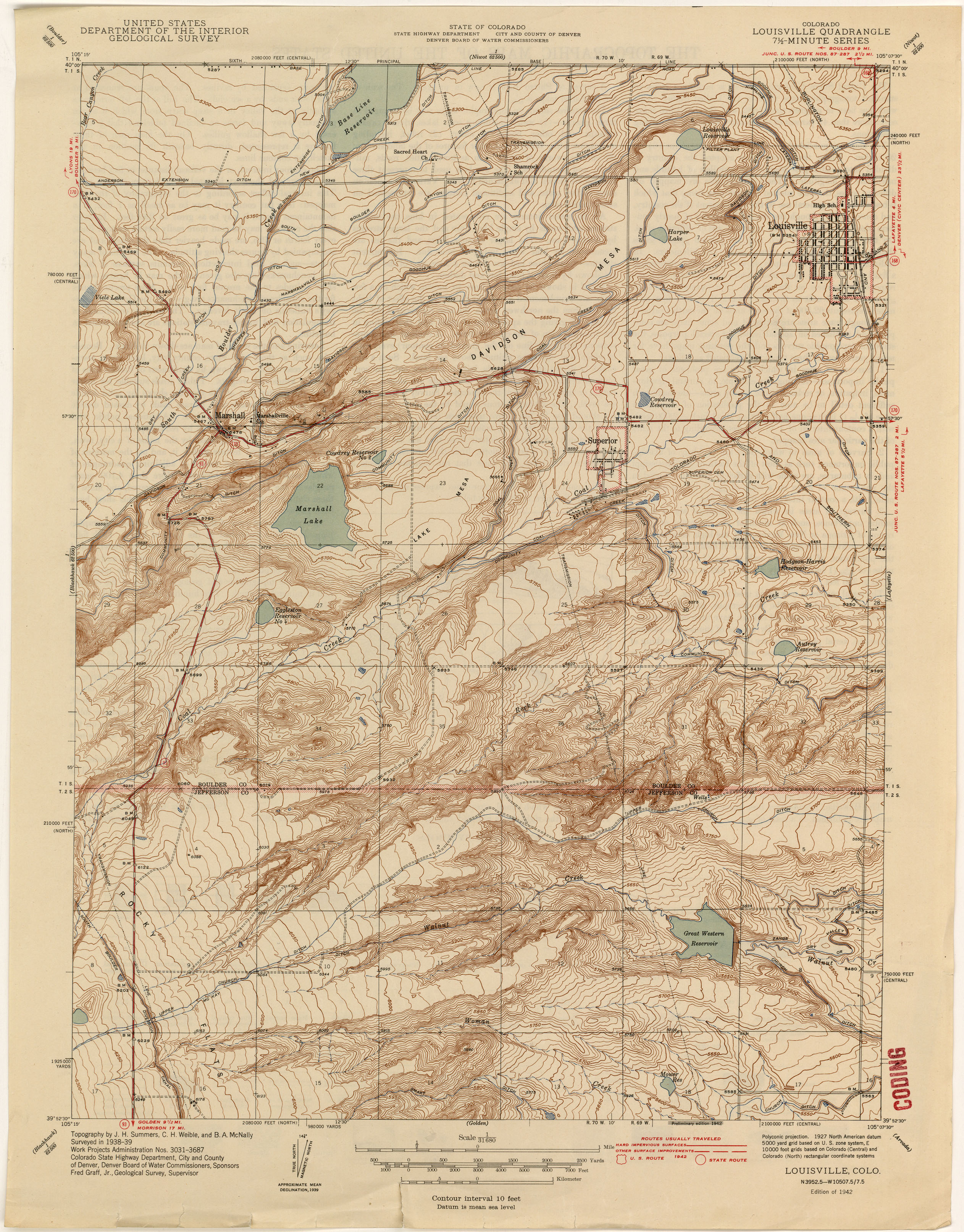Colorado Historical Topographic Maps Perry Casta eda Map Collection UT Li