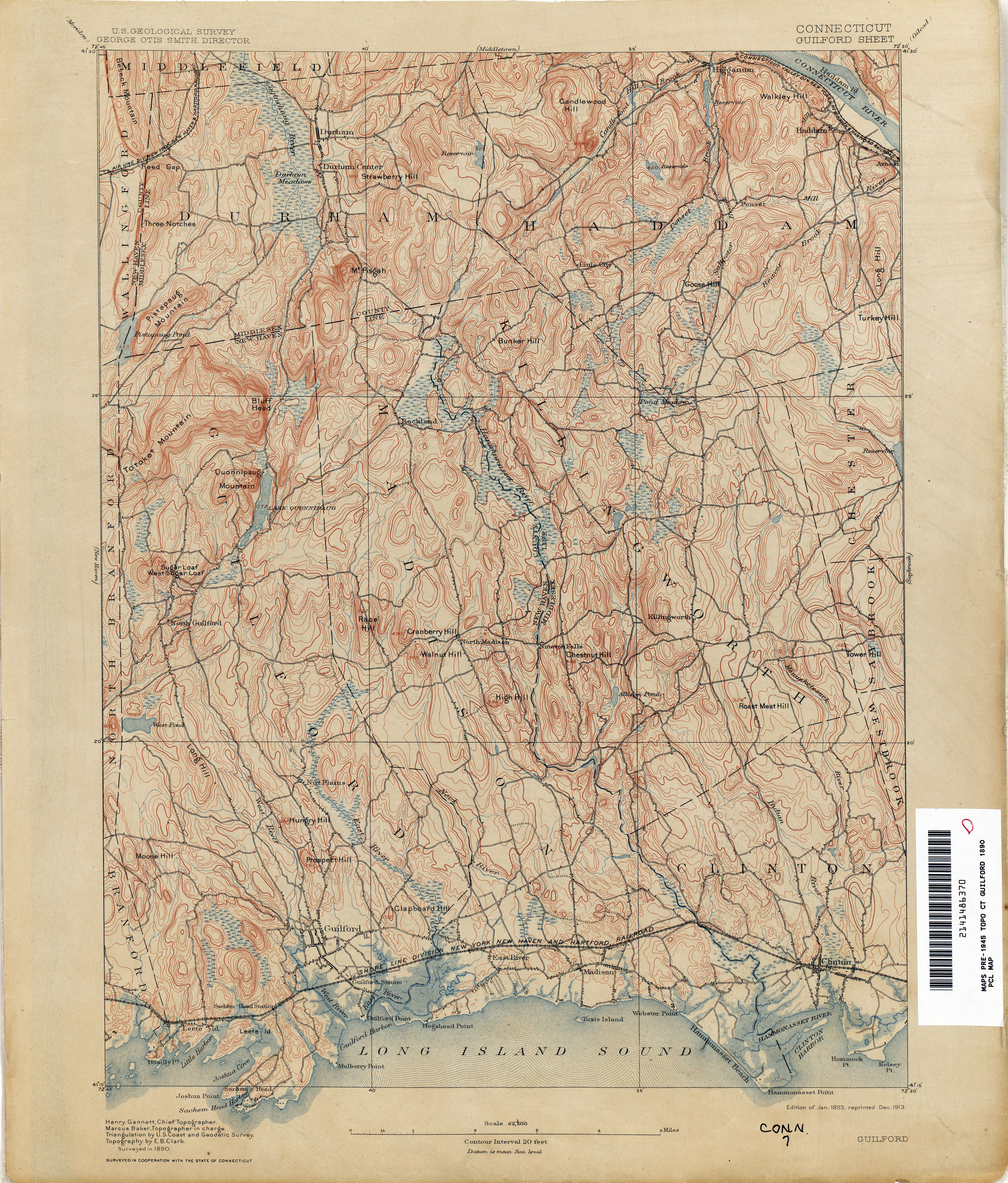 Connecticut Historical Topographic Maps  PerryCastaeda
