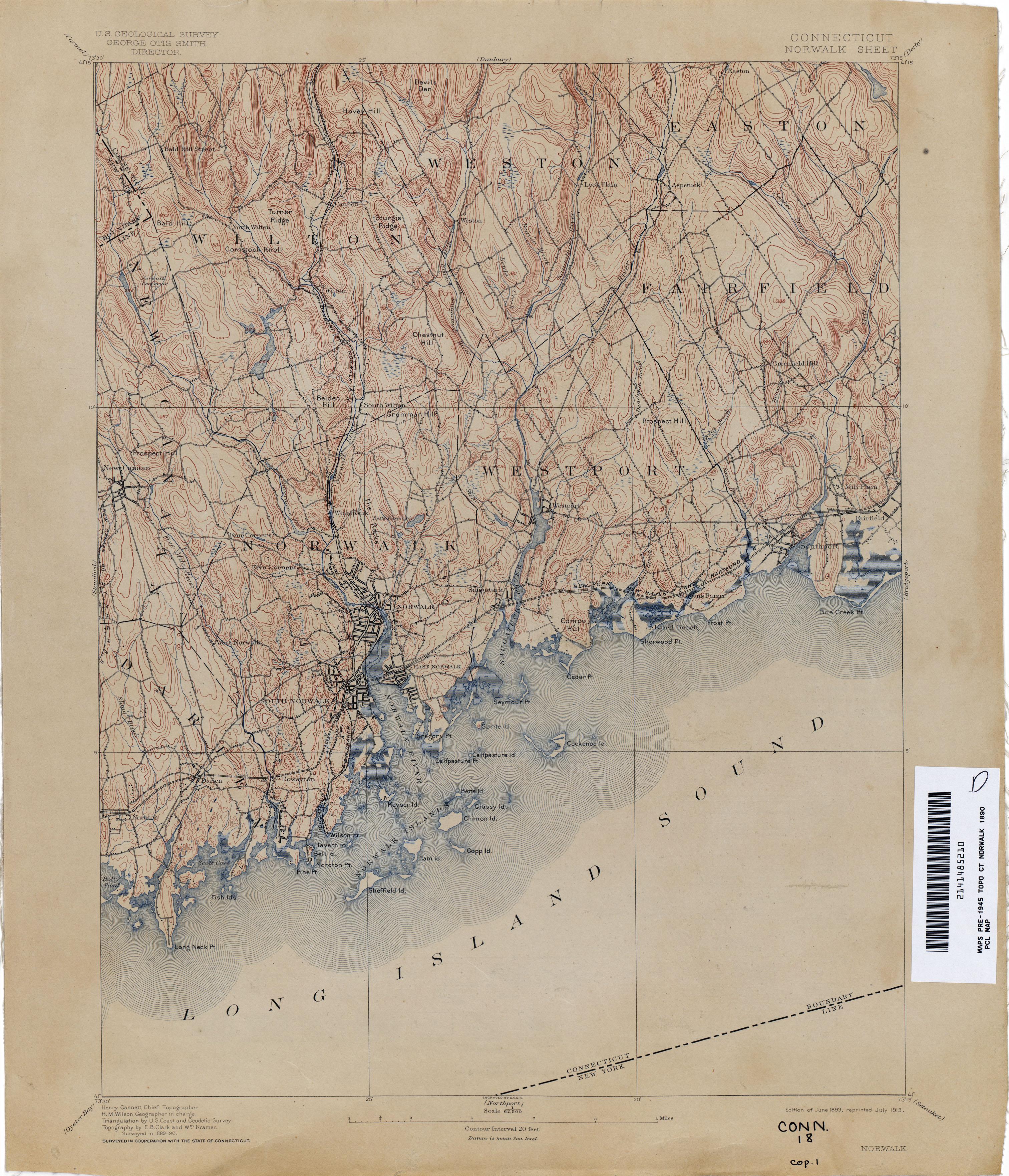 History of Norwalk Connecticut