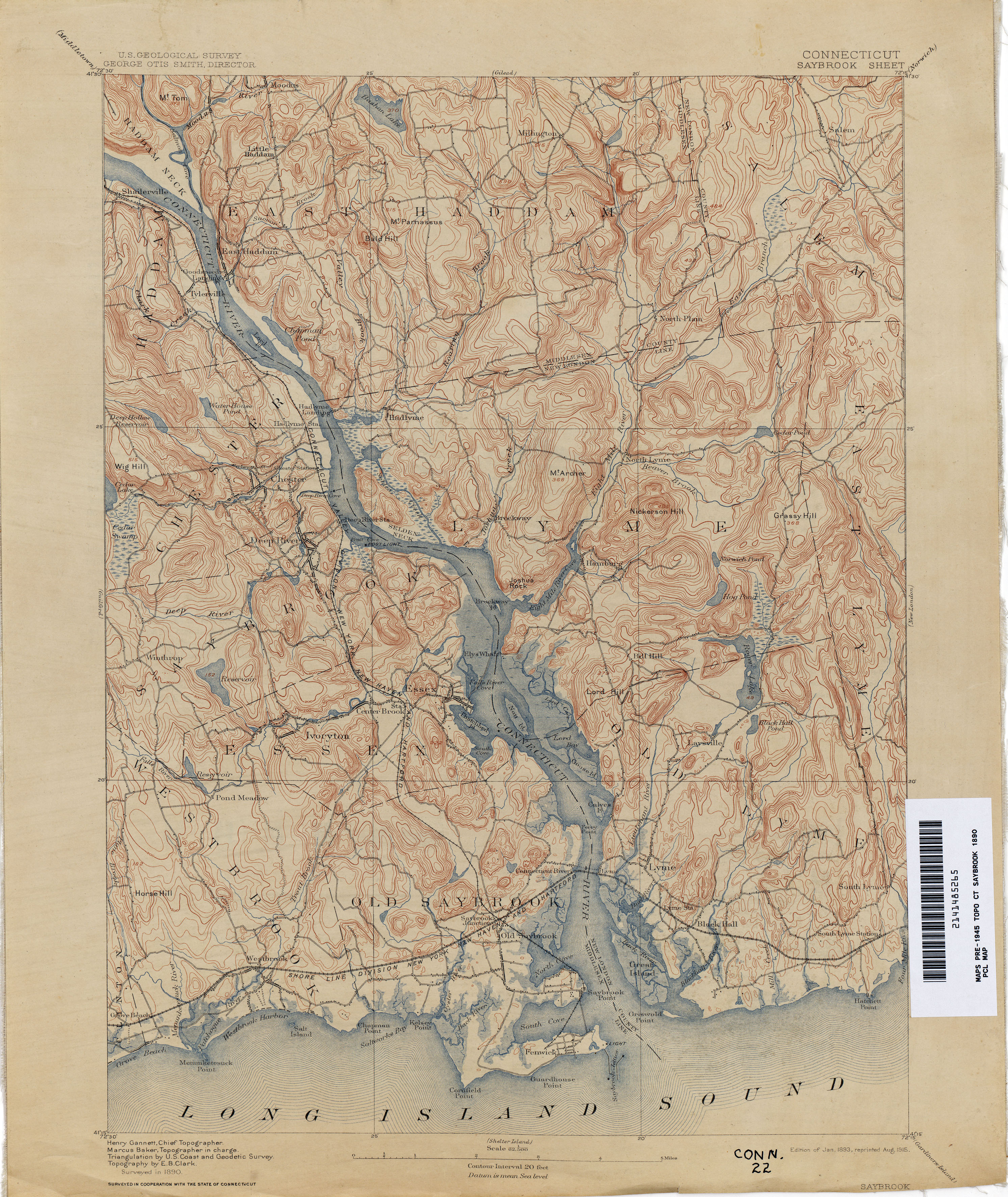 Connecticut Historical Topographic Maps PerryCastañeda Map - Maps of connecticut