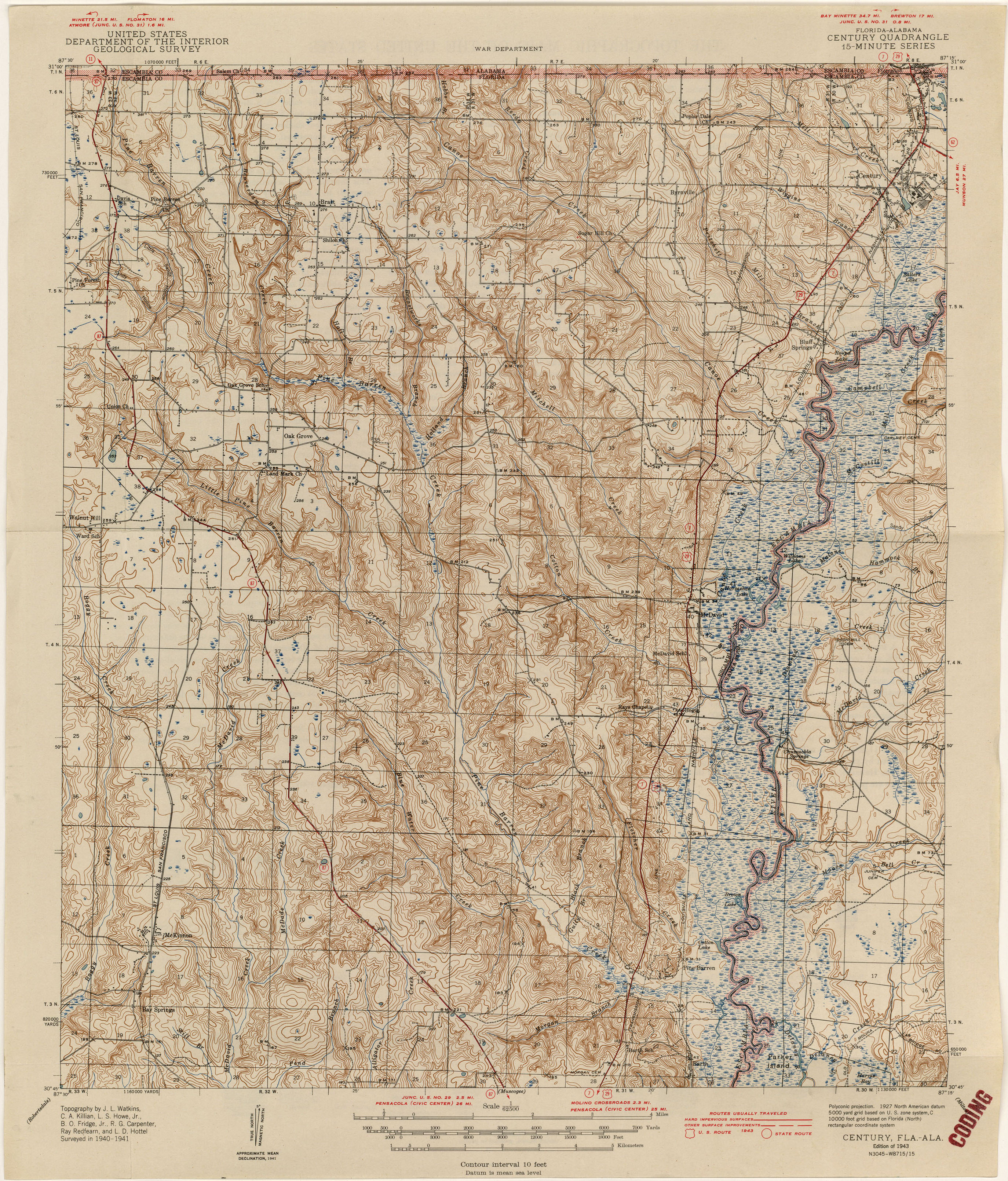 Florida Historical Topographic Maps PerryCastañeda Map - Topographical map of florida
